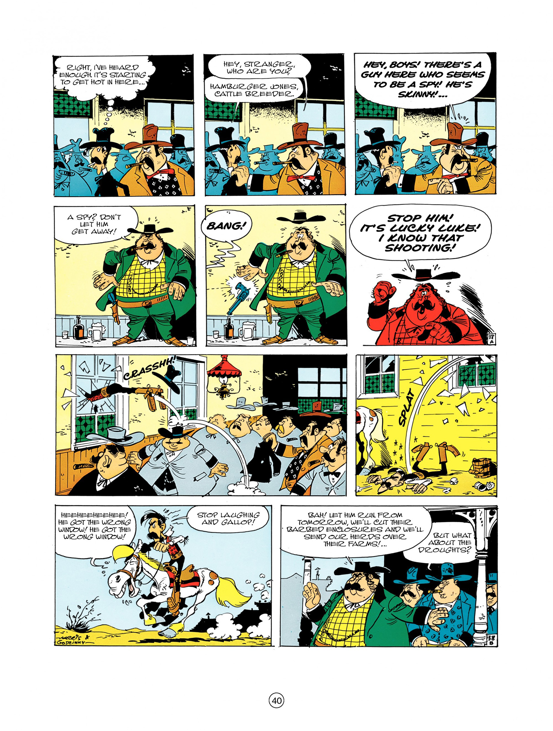 Read online A Lucky Luke Adventure comic -  Issue #7 - 40