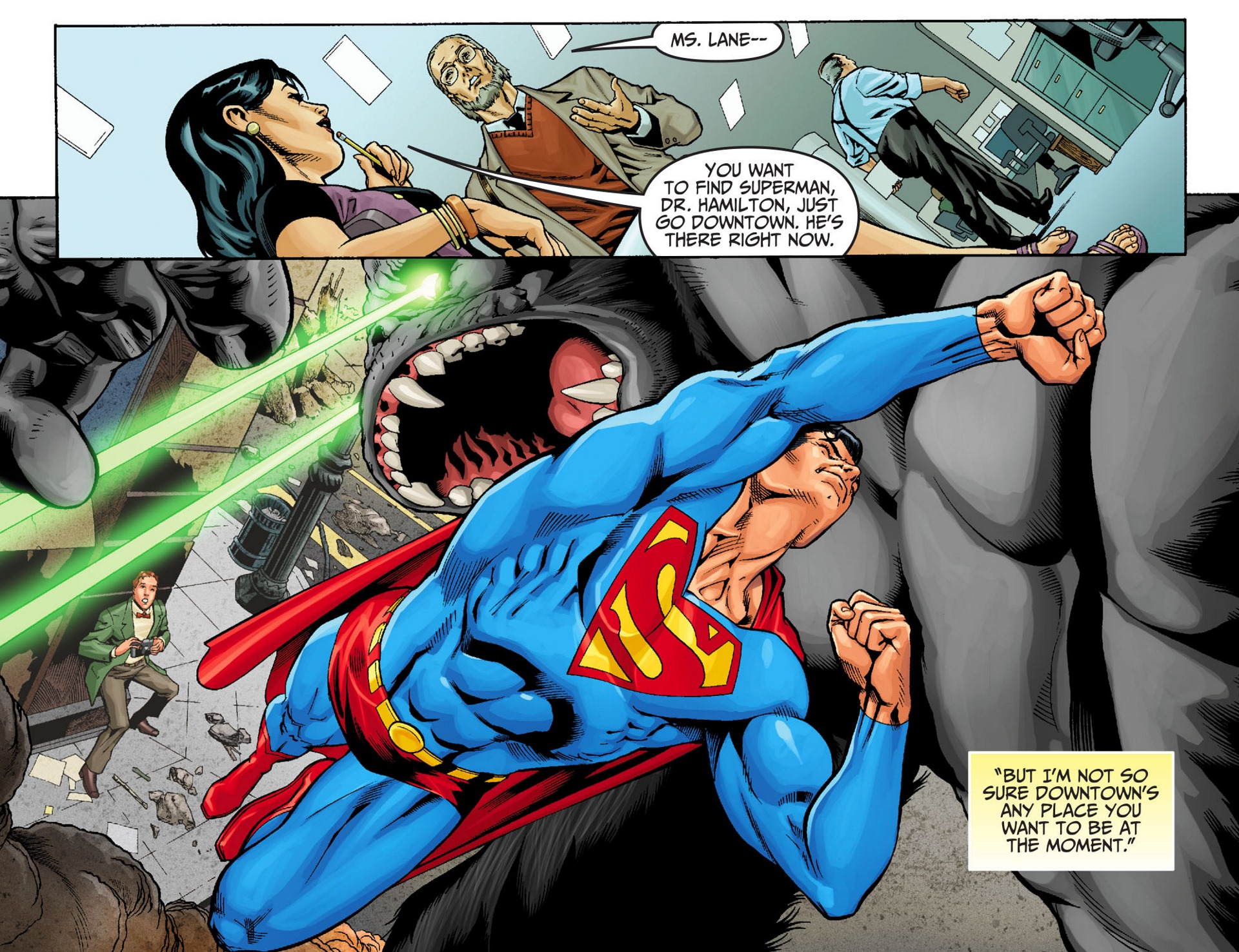 Read online Adventures of Superman [I] comic -  Issue #22 - 6