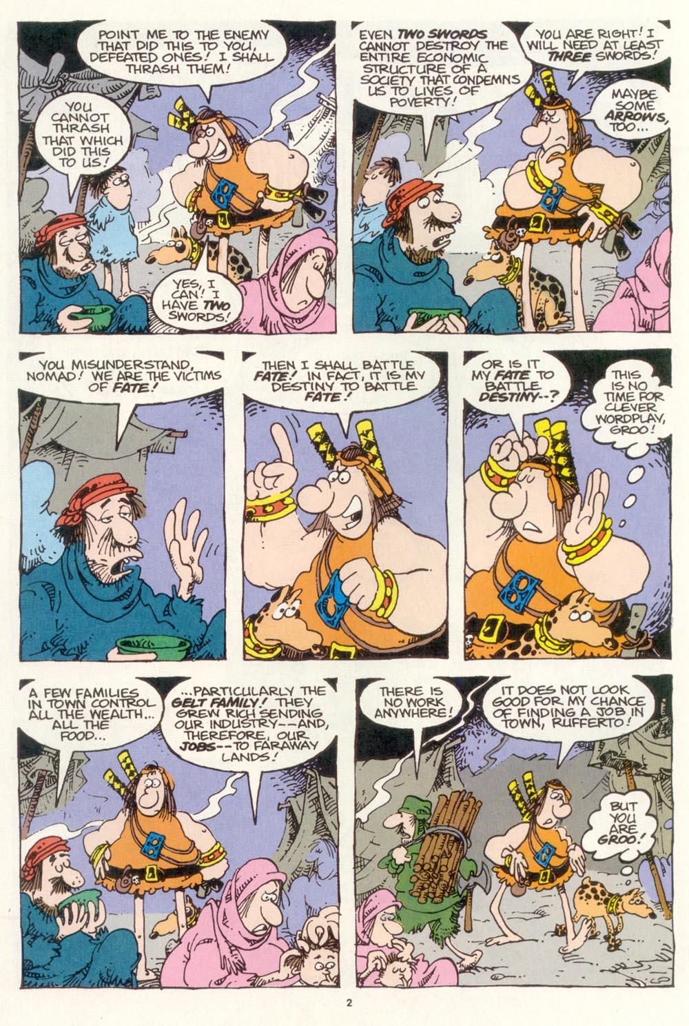 Read online Sergio Aragonés Groo the Wanderer comic -  Issue #118 - 4