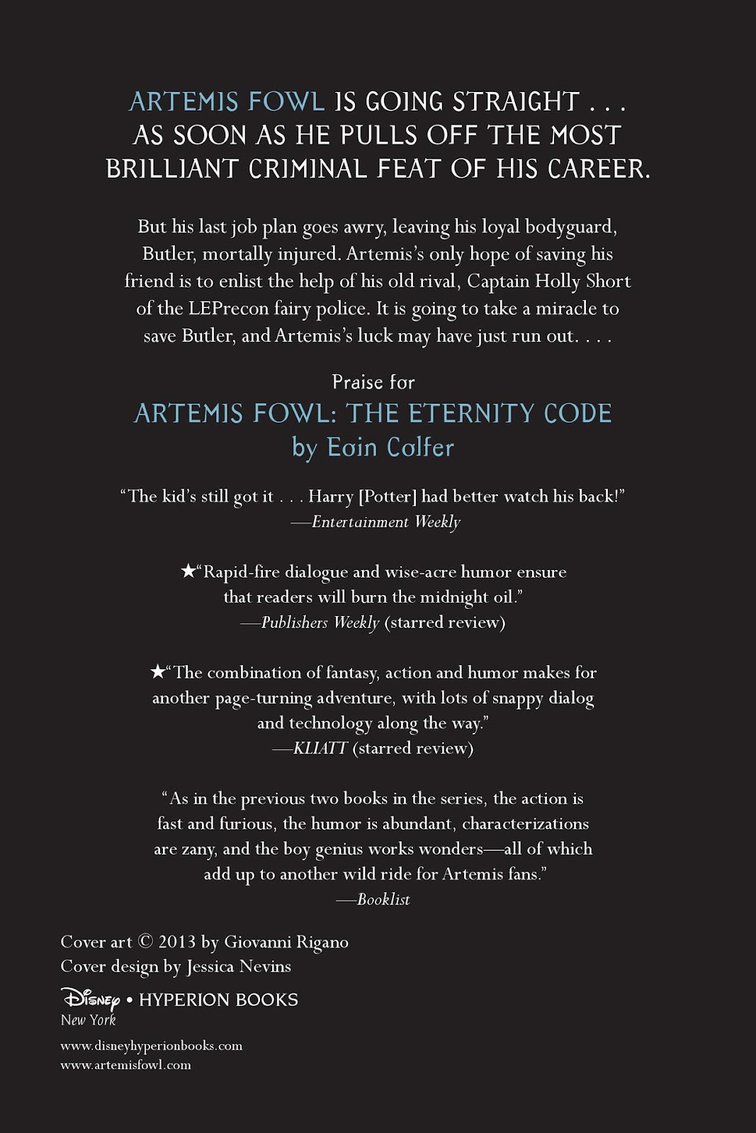 Artemis Fowl: The Eternity Code issue TPB - Page 116
