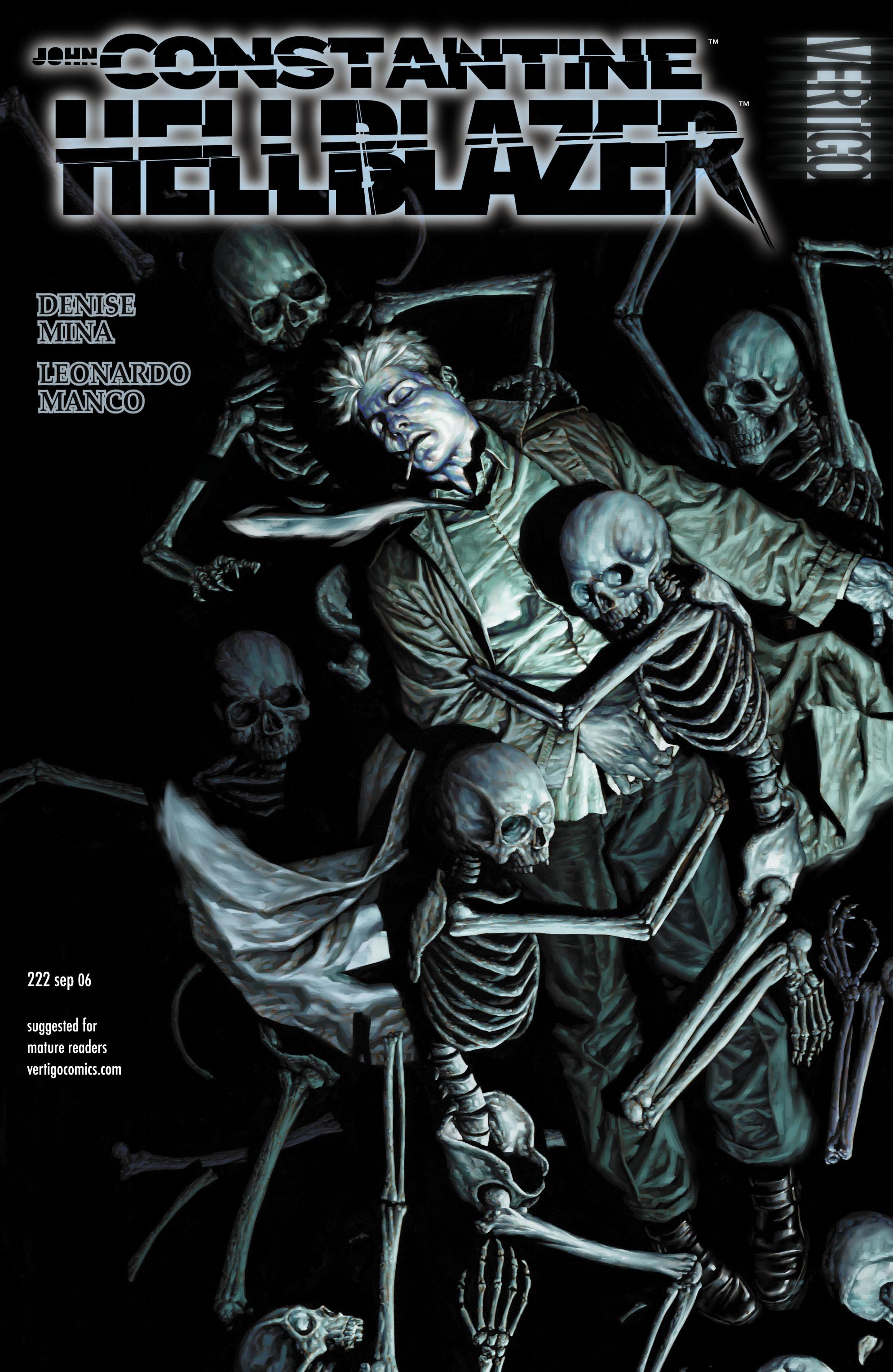 Hellblazer issue 222 - Page 1