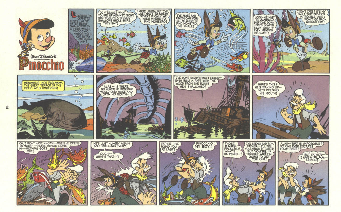 Walt Disney's Comics and Stories issue 574 - Page 40