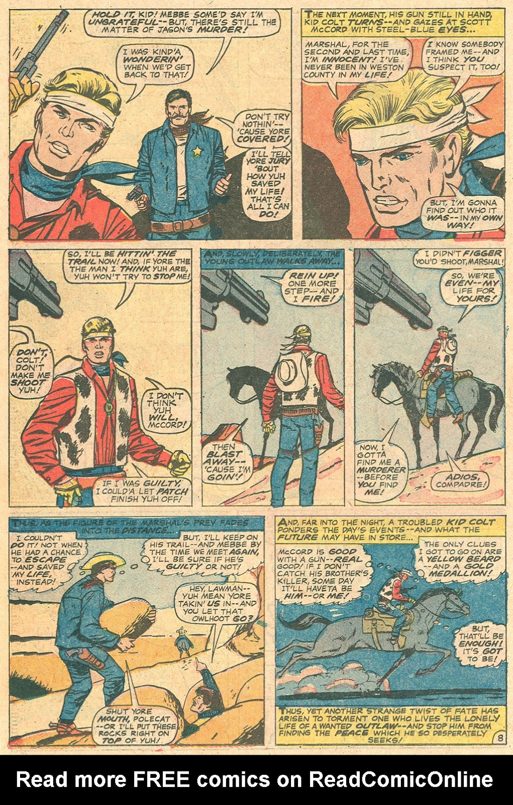 Kid Colt Outlaw issue 136 - Page 22