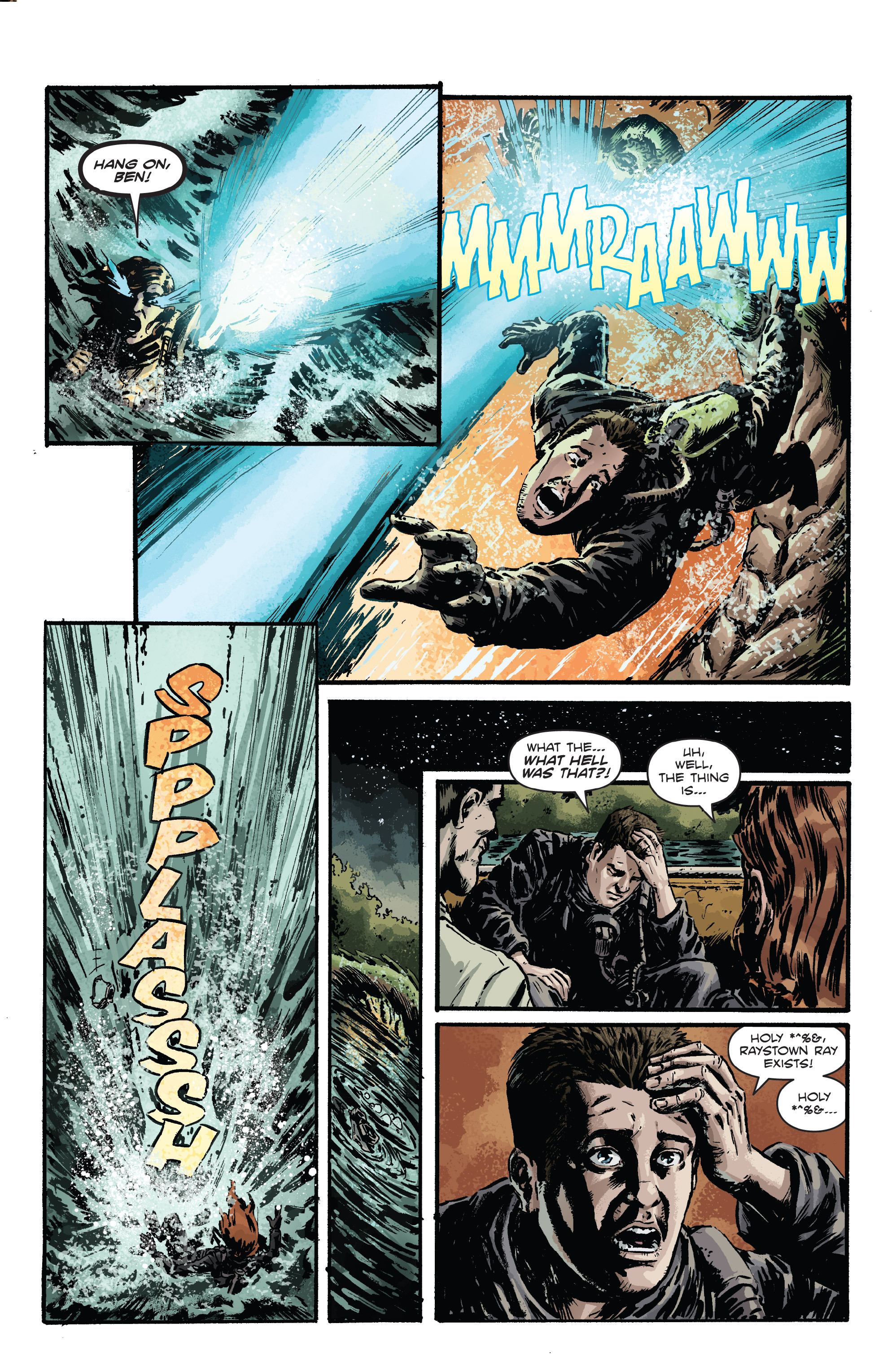 Read online Hoax Hunters (2012) comic -  Issue # TPB 3 - 126