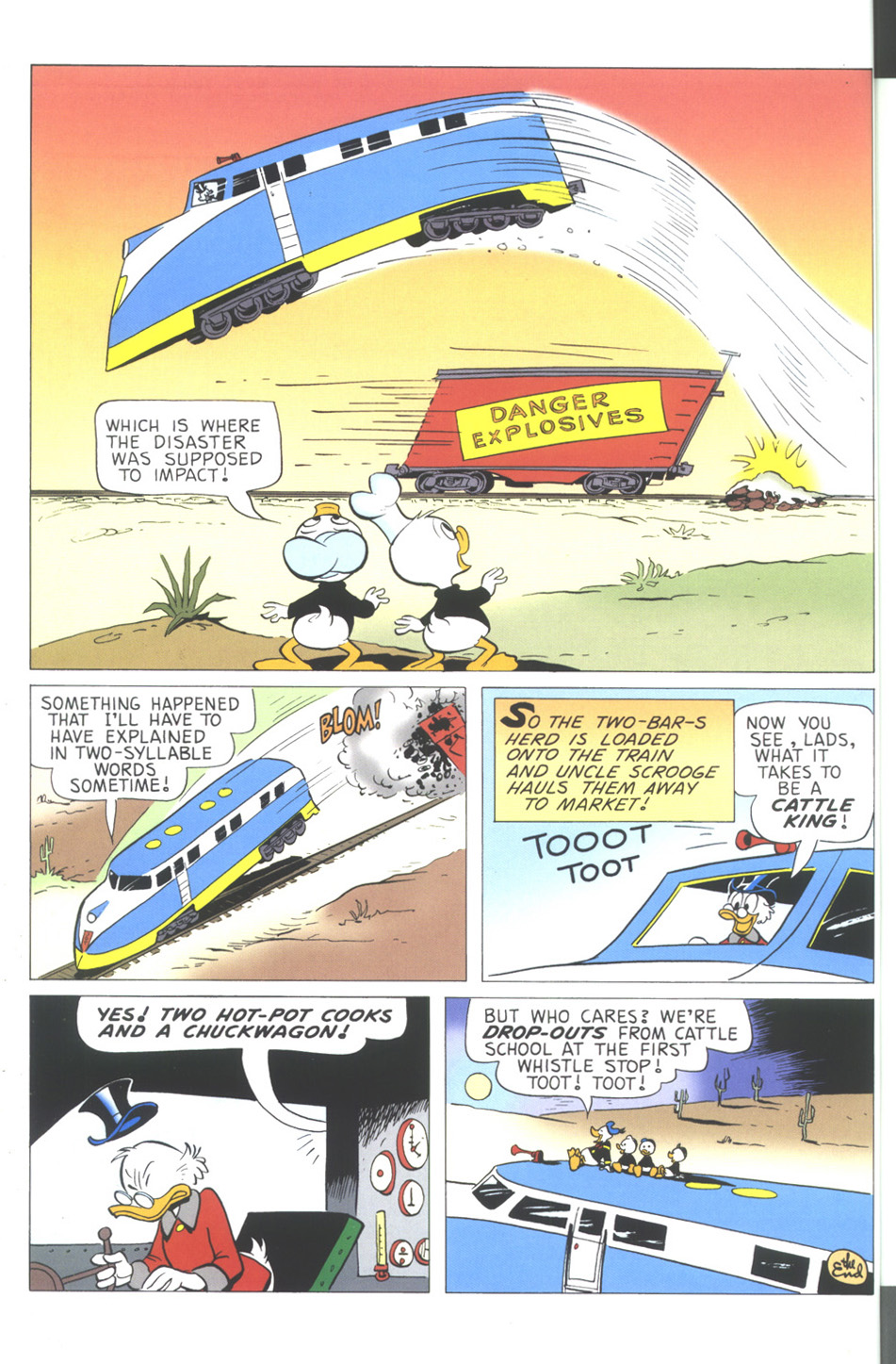 Read online Uncle Scrooge (1953) comic -  Issue #344 - 66
