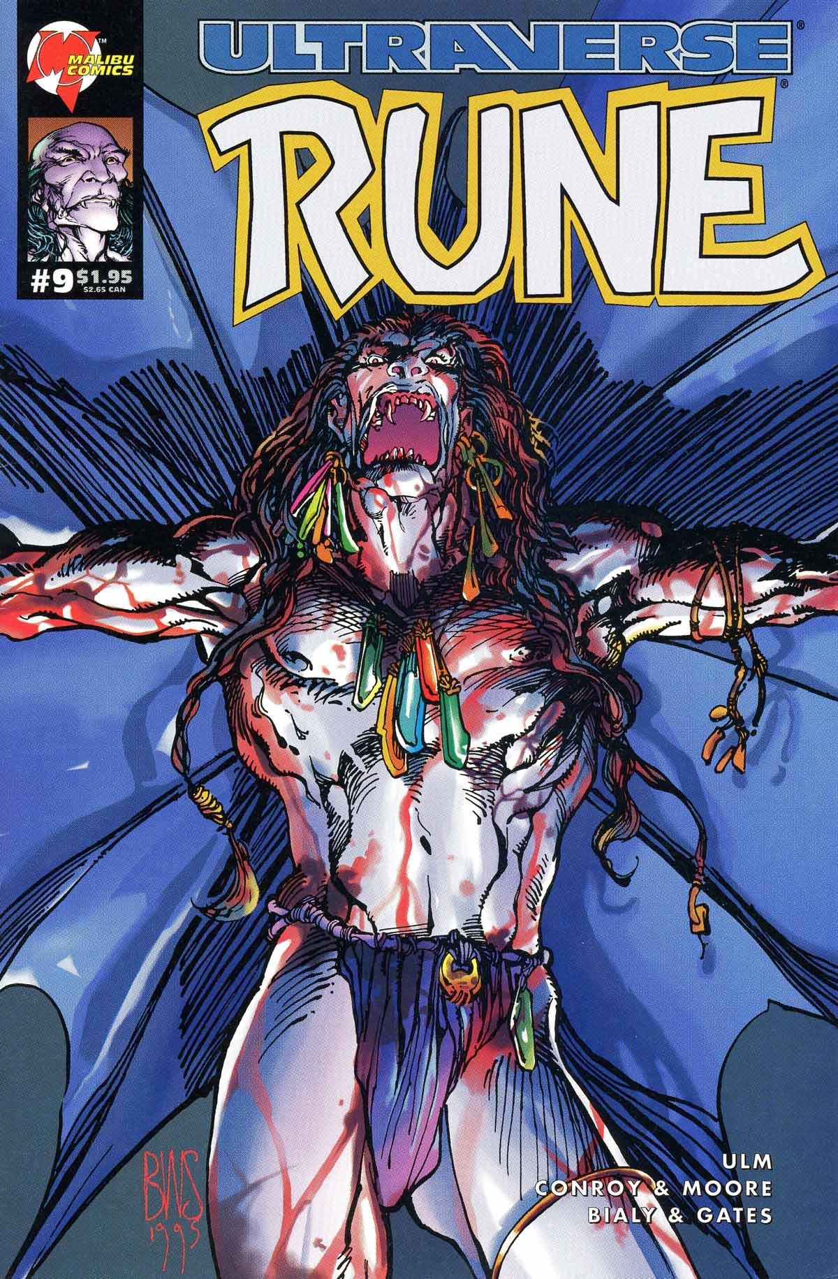 Read online Rune (1994) comic -  Issue #9 - 1