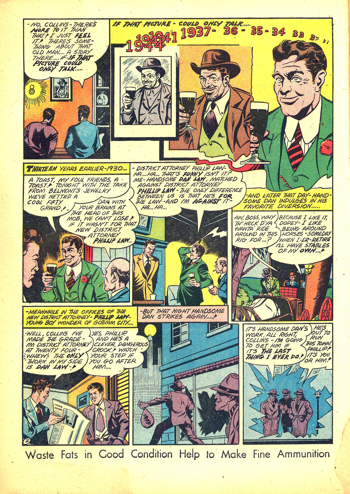 Read online Sensation (Mystery) Comics comic -  Issue #31 - 18