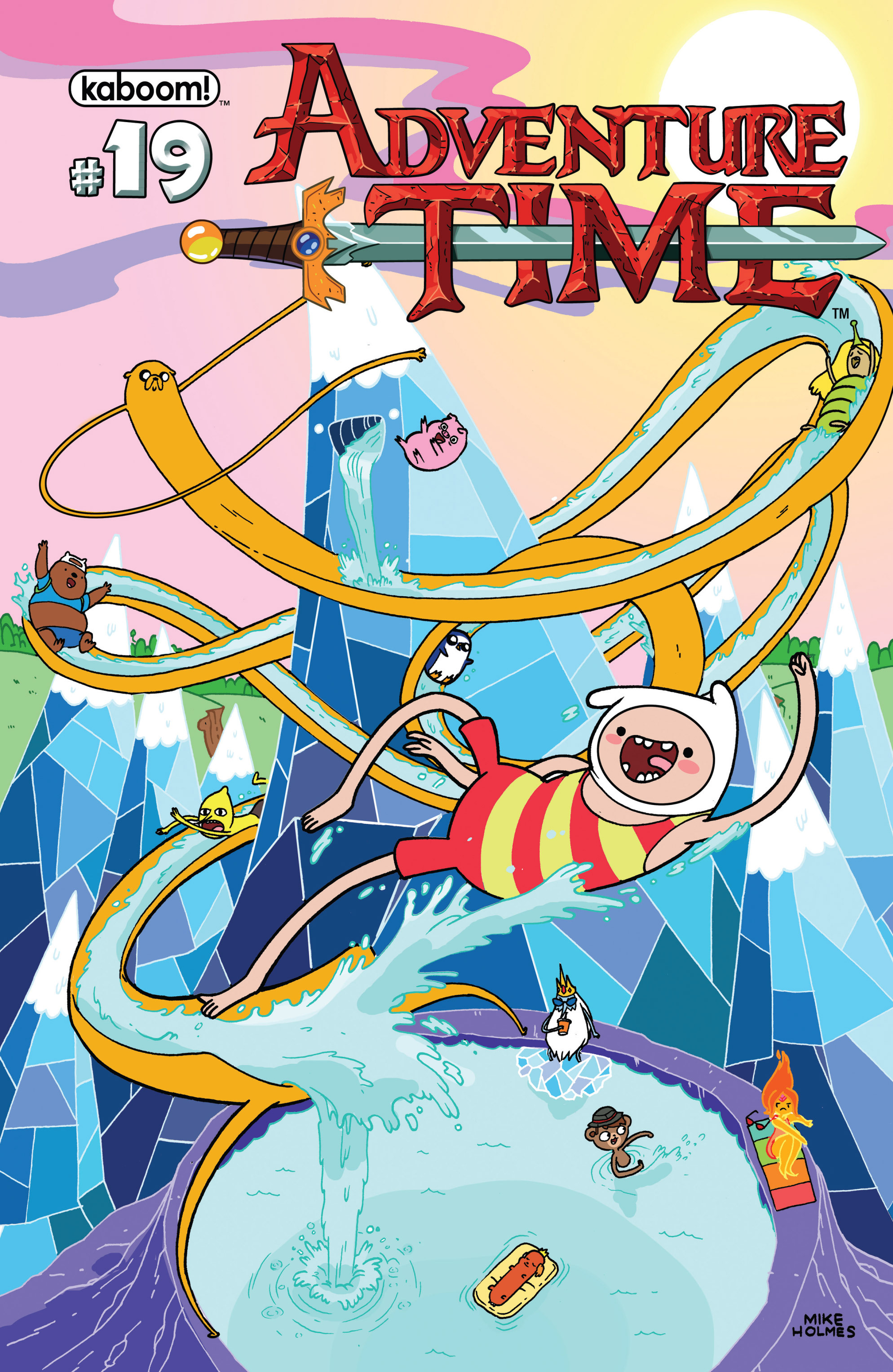 Read online Adventure Time comic -  Issue #19 - 1
