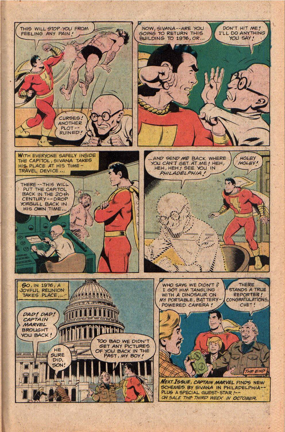 Read online Shazam! (1973) comic -  Issue #26 - 31