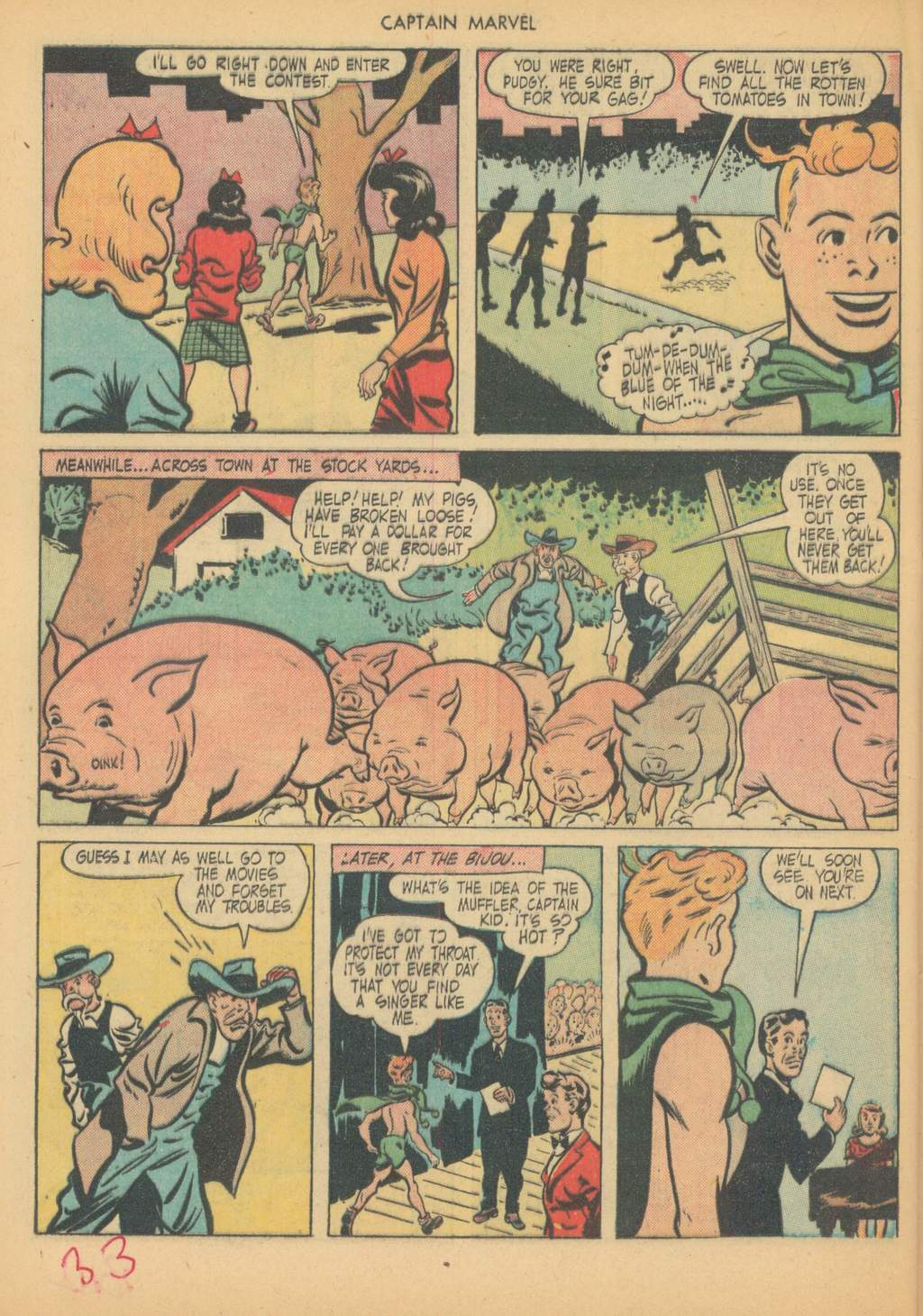 Captain Marvel Adventures issue 63 - Page 36