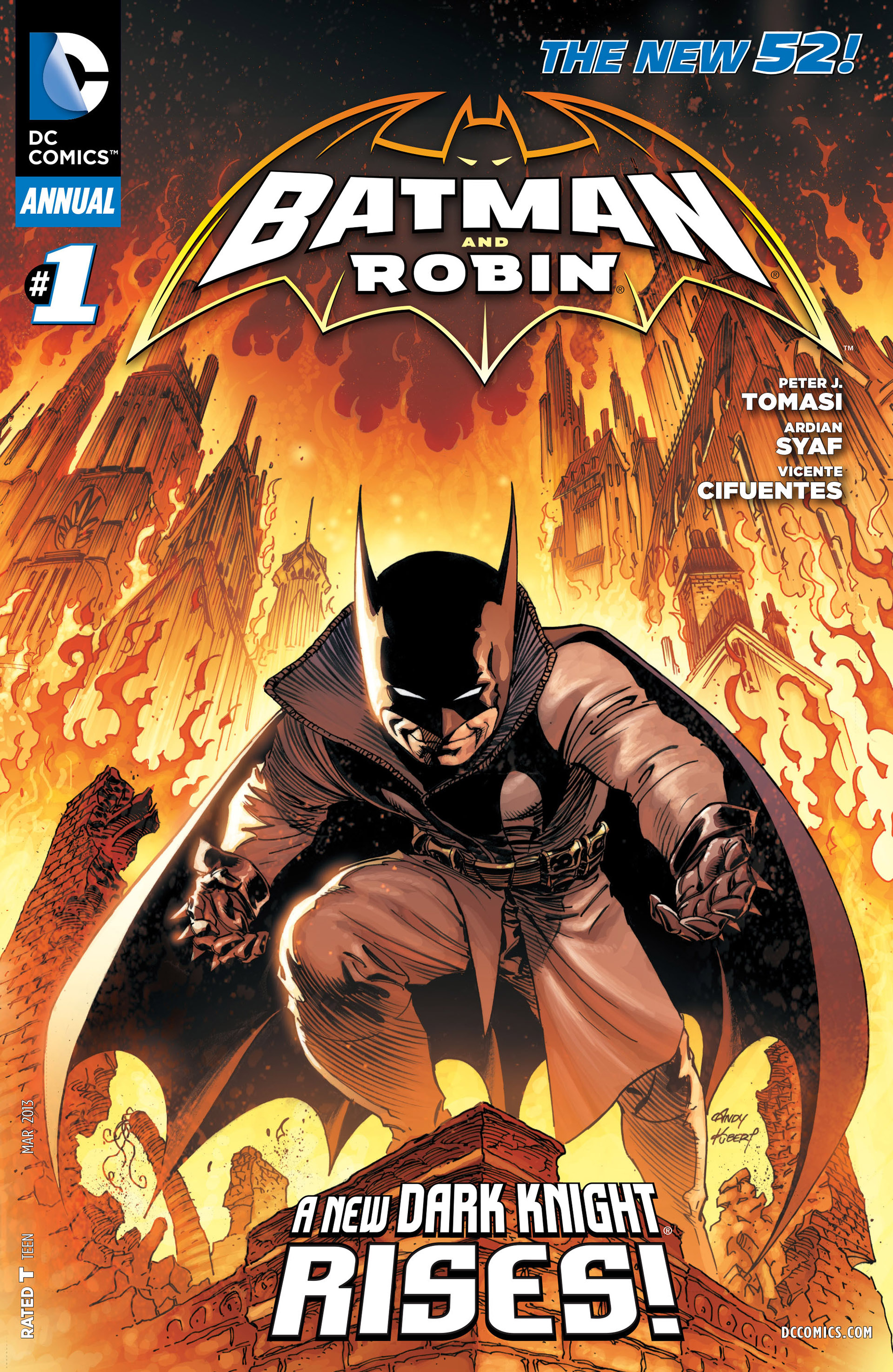 Read online Batman and Robin (2011) comic -  Issue # Annual 1 - 1