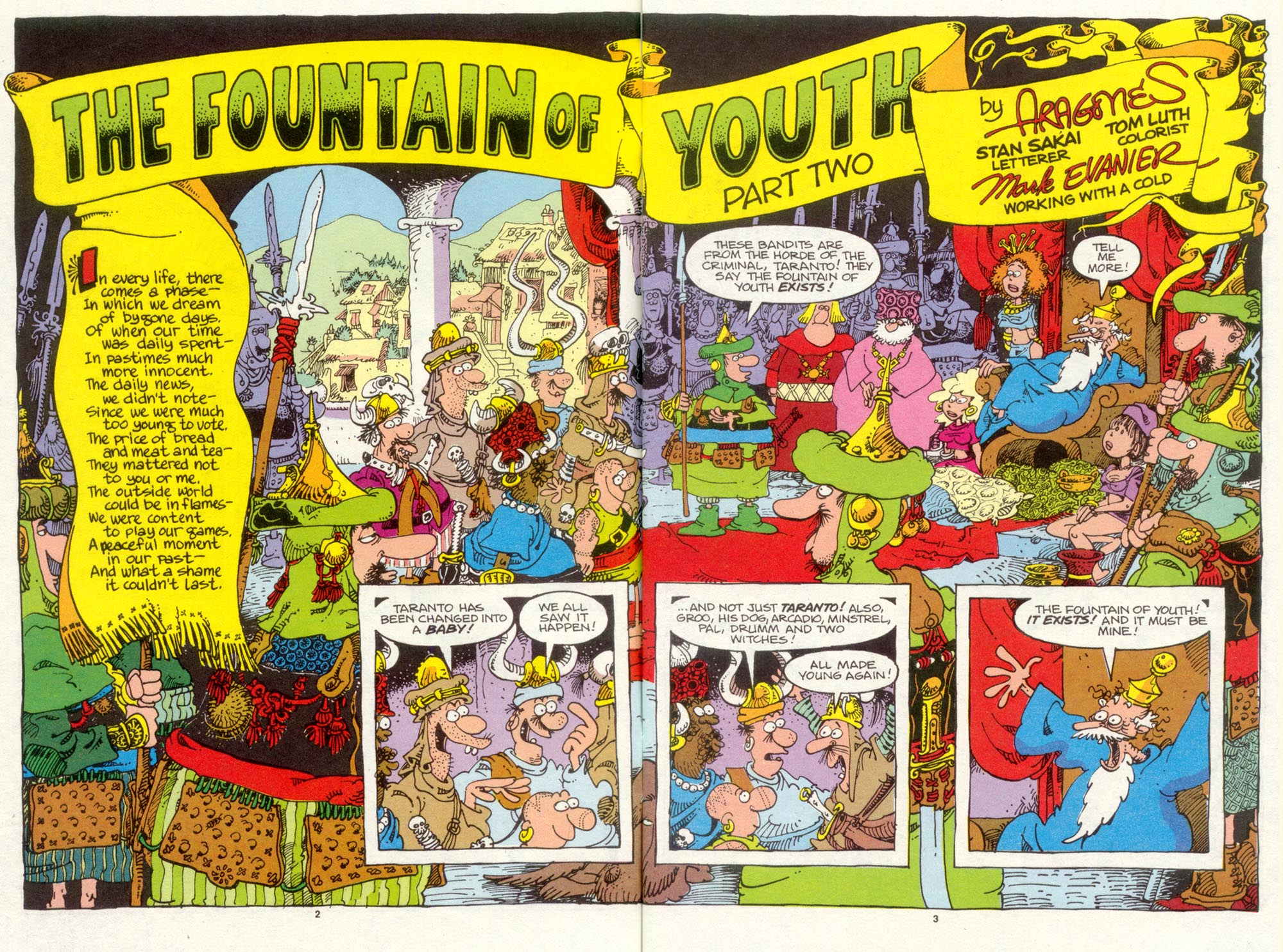 Read online Sergio Aragonés Groo the Wanderer comic -  Issue #93 - 4