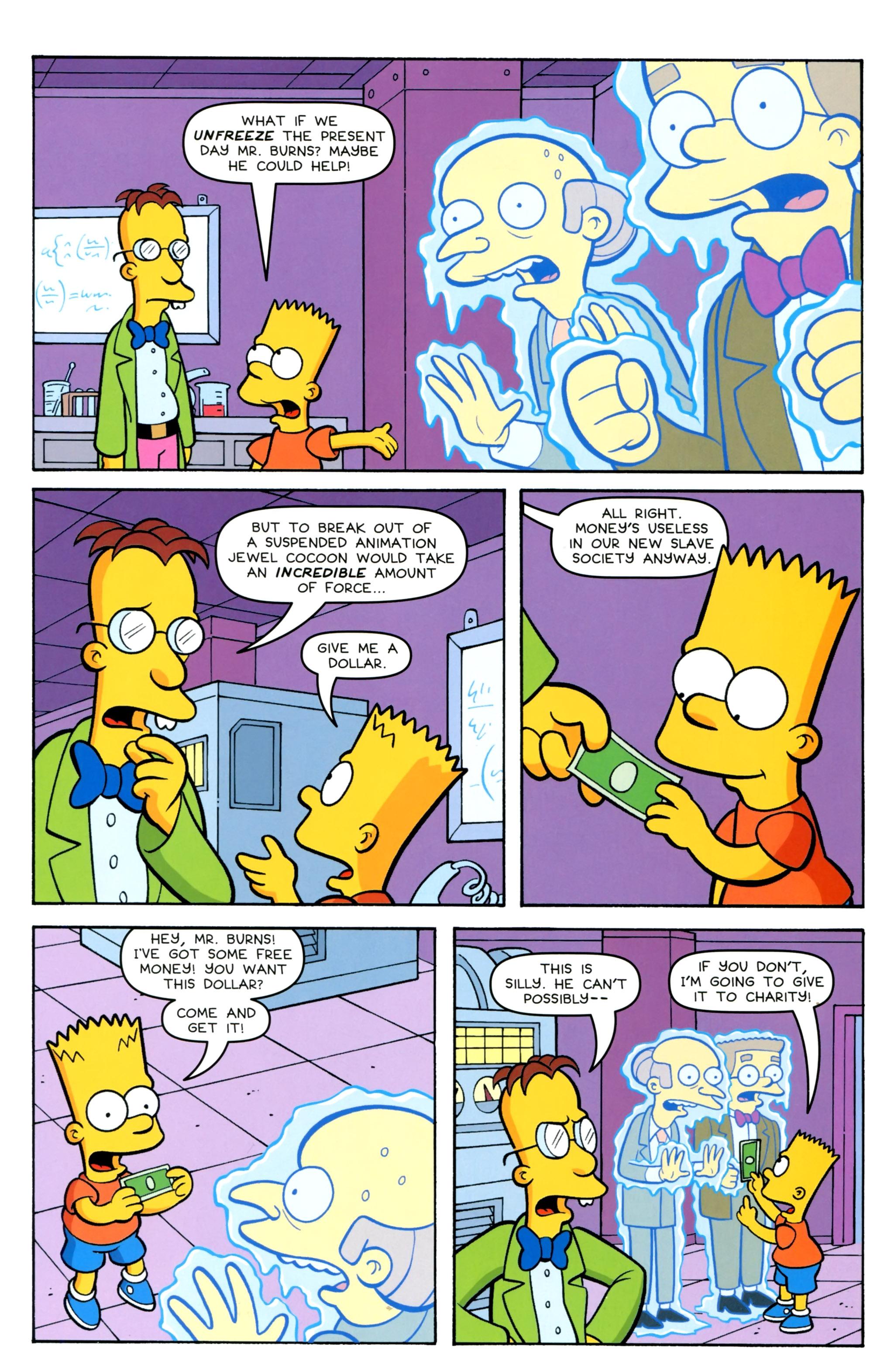 Read online Simpsons Comics Presents Bart Simpson comic -  Issue #100 - 27