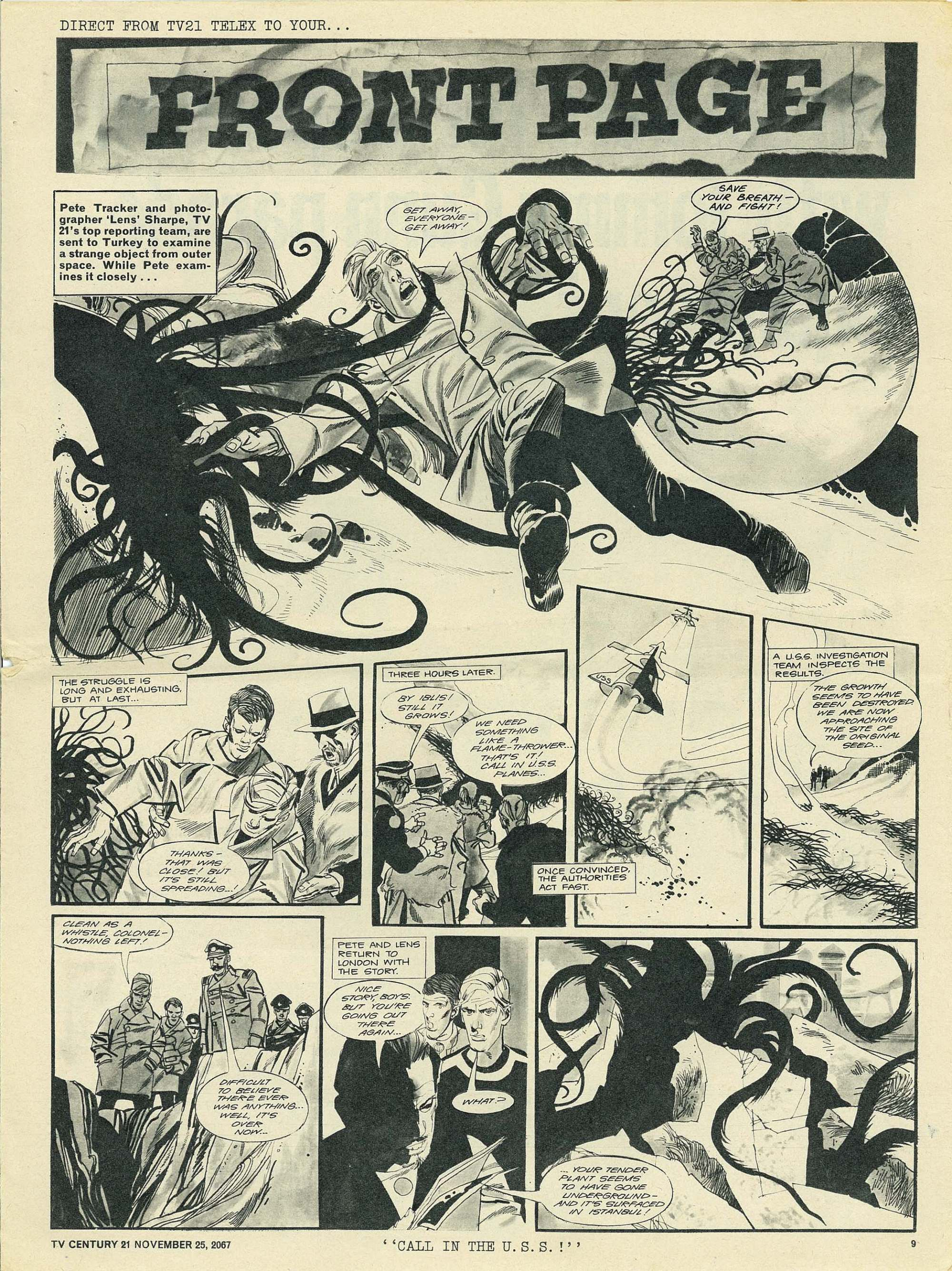 Read online TV Century 21 (TV 21) comic -  Issue #149 - 9