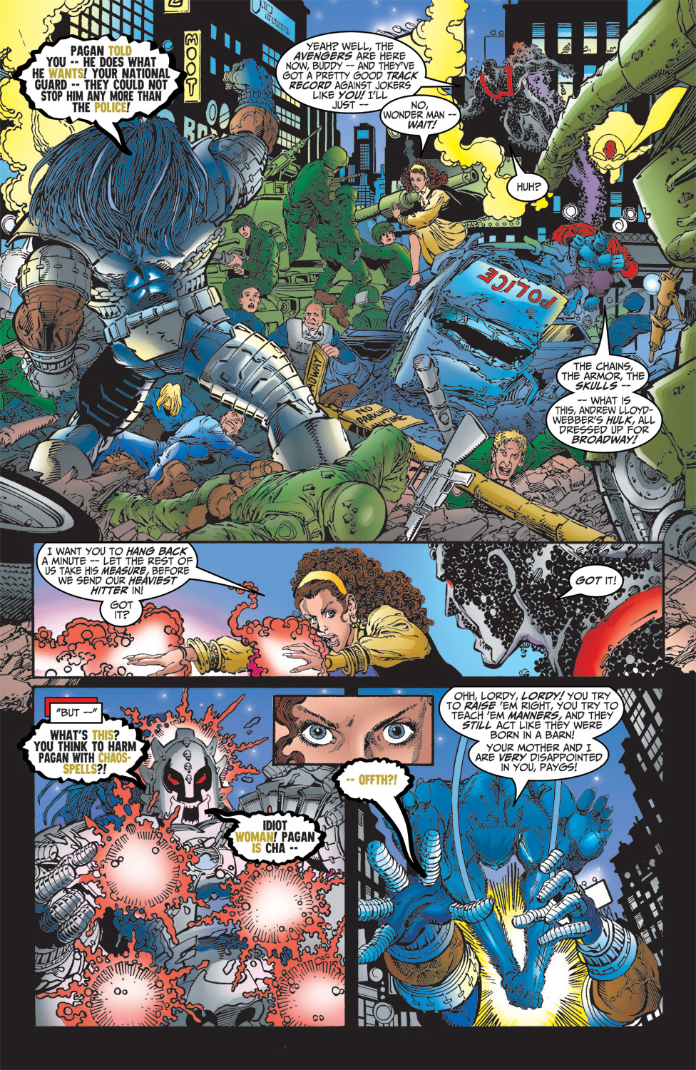 Read online Avengers (1998) comic -  Issue #14 - 15