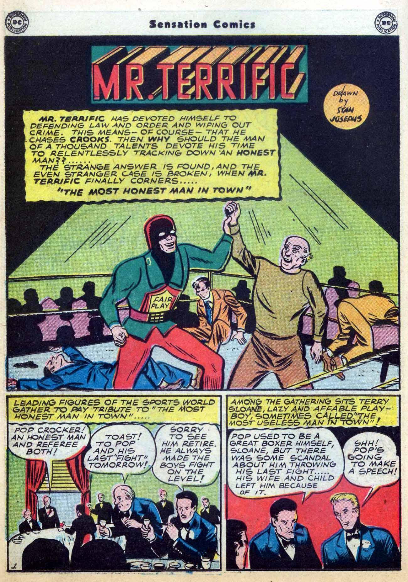 Read online Sensation (Mystery) Comics comic -  Issue #59 - 32