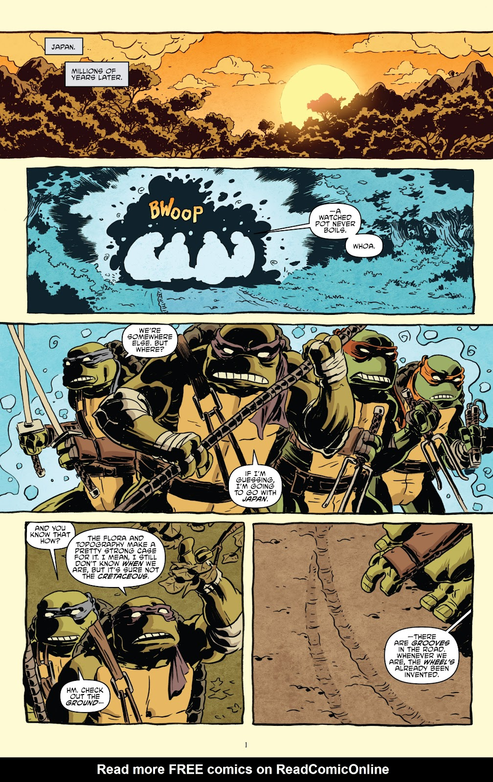 Read online Teenage Mutant Ninja Turtles: The IDW Collection comic -  Issue # TPB 5 (Part 1) - 31