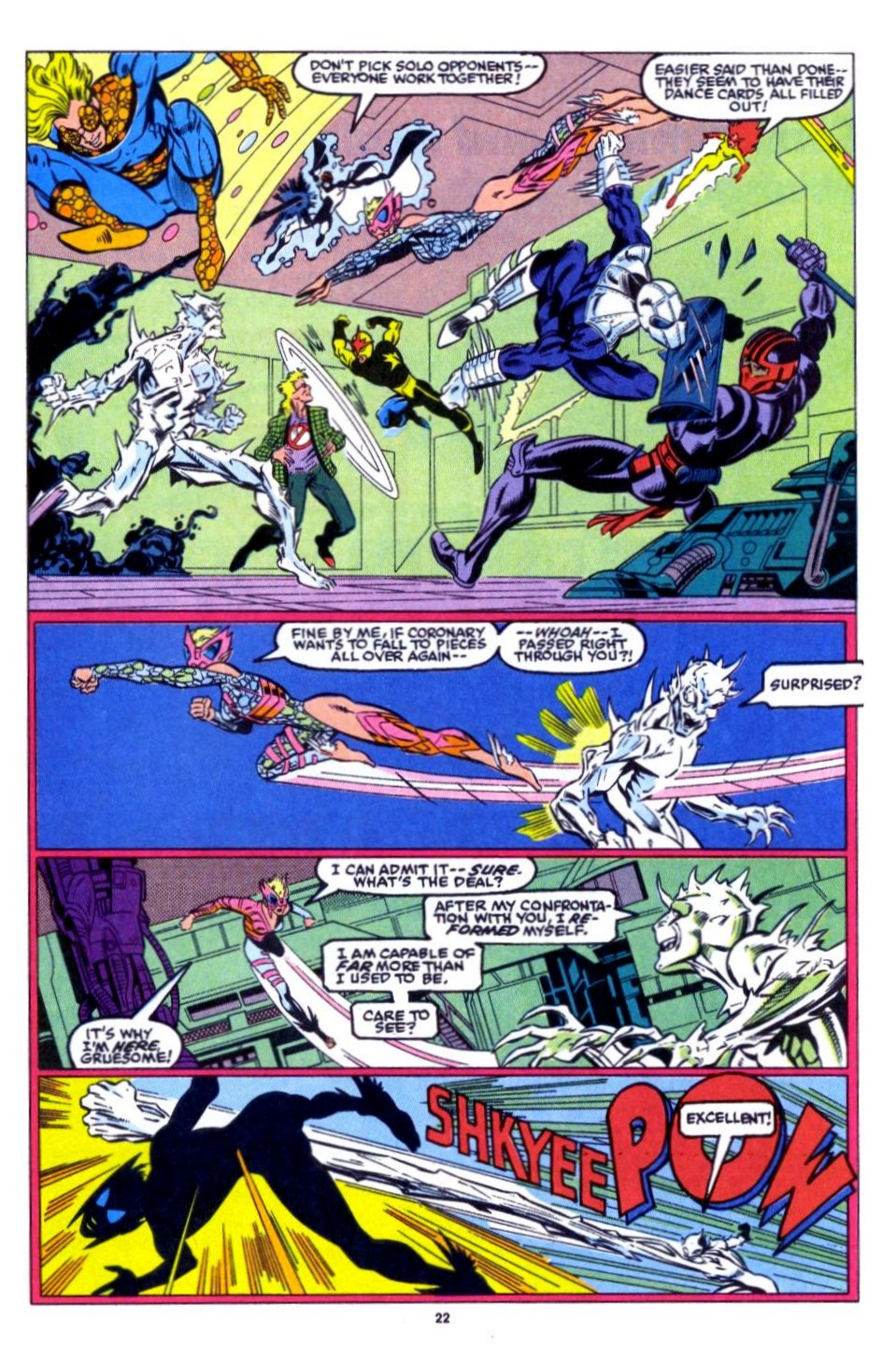 The New Warriors Issue #15 #19 - English 17