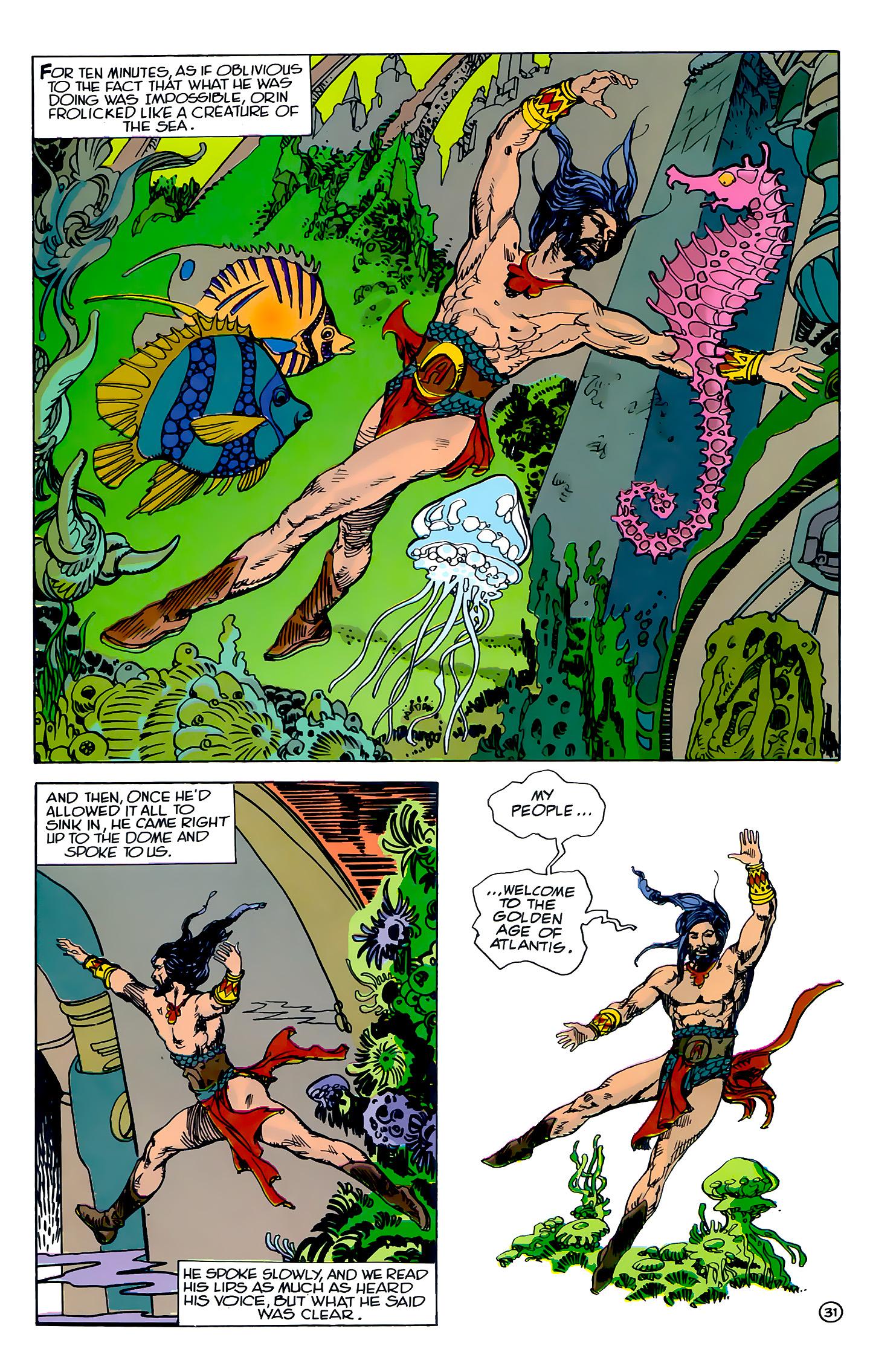 Read online Atlantis Chronicles comic -  Issue #2 - 31