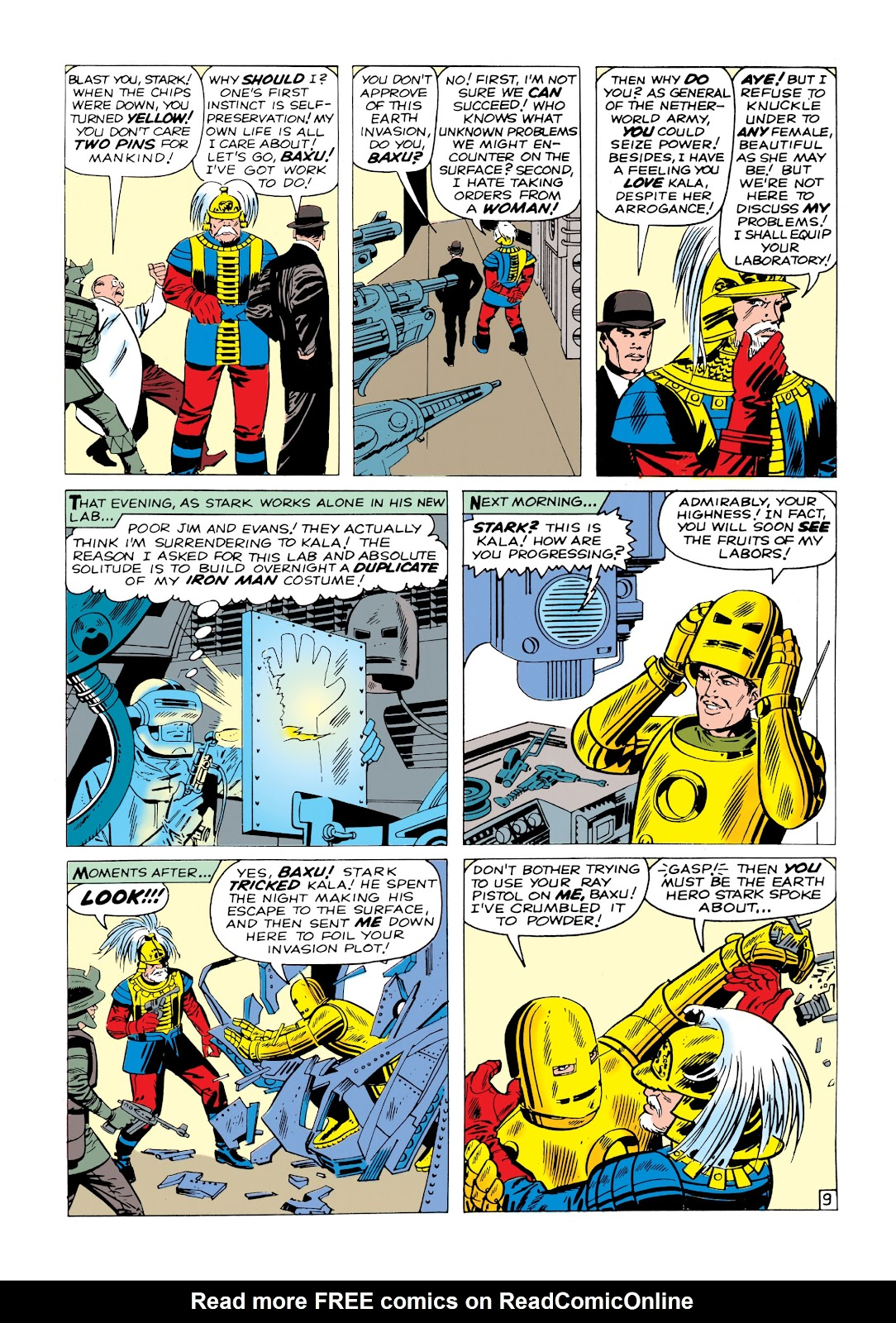 Read online Marvel Masterworks: The Invincible Iron Man comic -  Issue # TPB 1 (Part 1) - 68