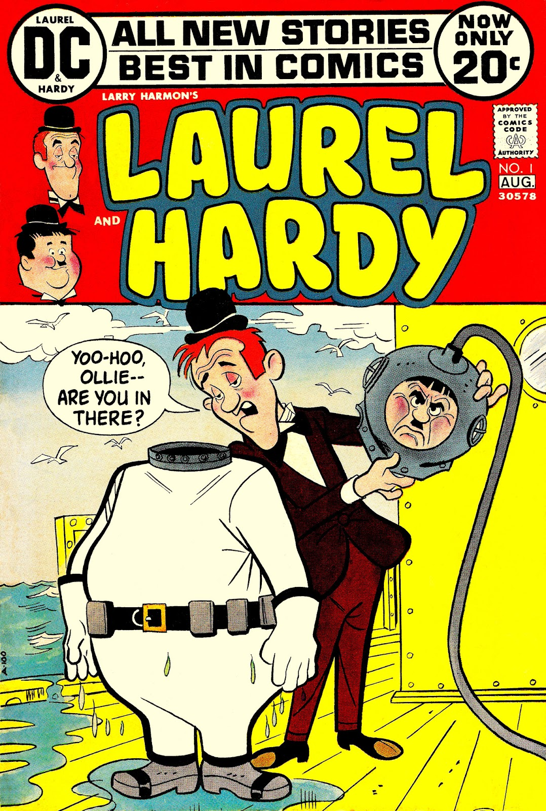Larry Harmon's Laurel and Hardy issue Full - Page 1