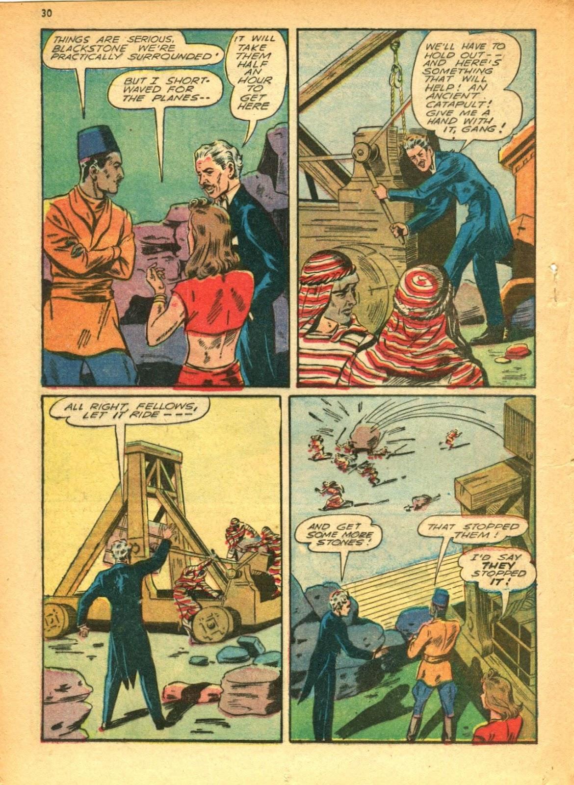 Read online Super-Magician Comics comic -  Issue #12 - 30