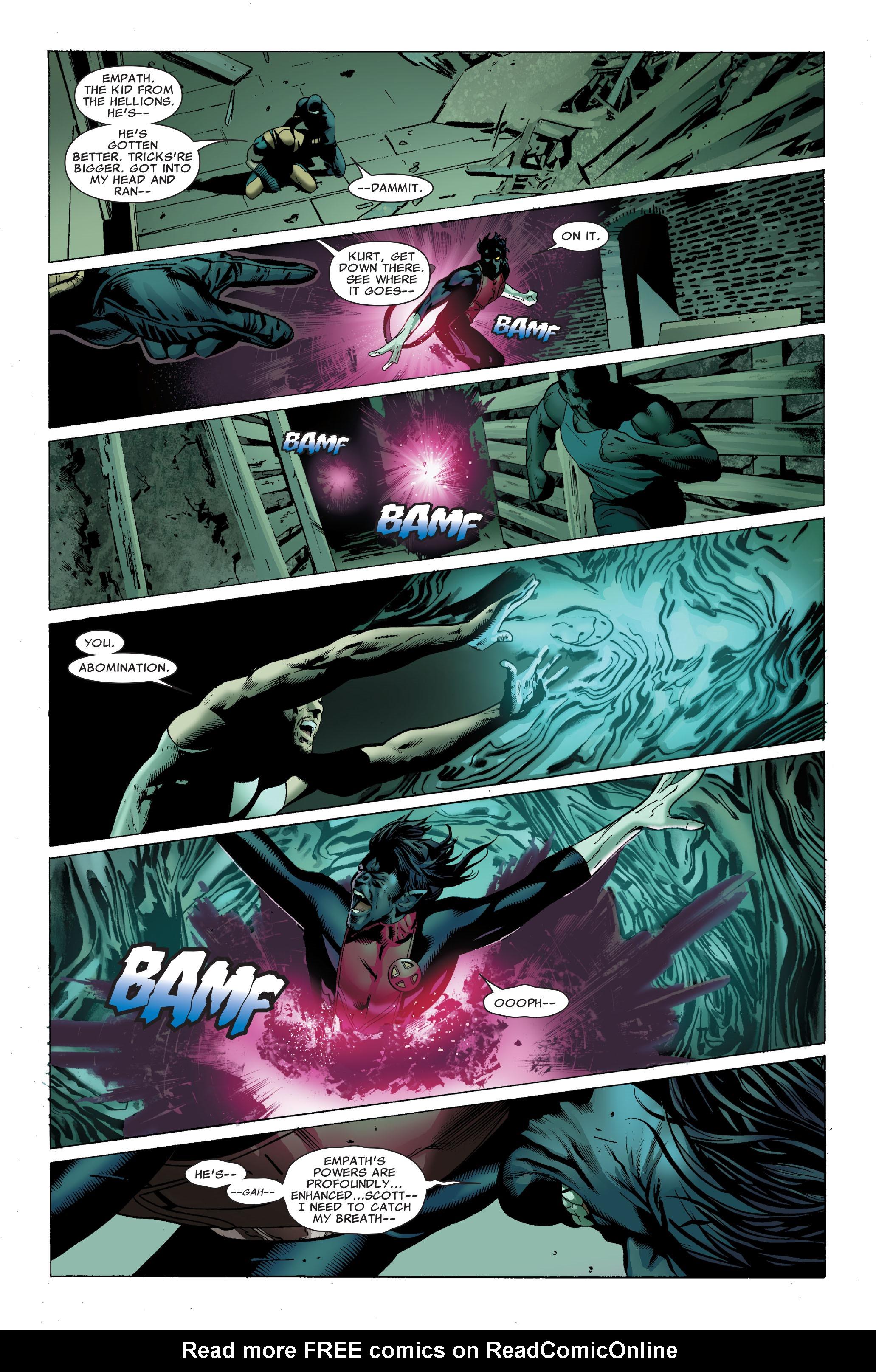 Read online Uncanny X-Men (1963) comic -  Issue #502 - 21