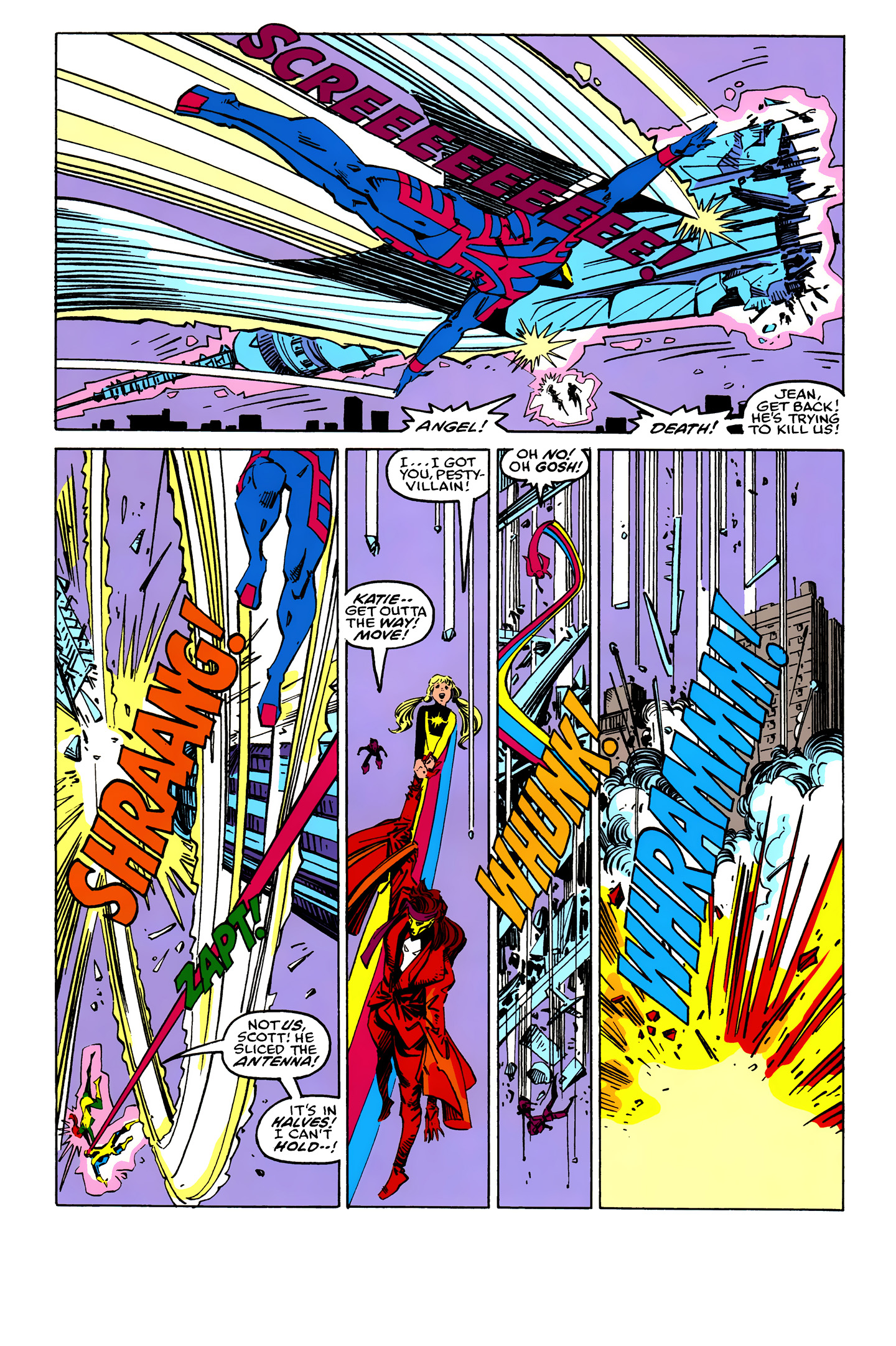 Read online X-Factor (1986) comic -  Issue #25 - 25