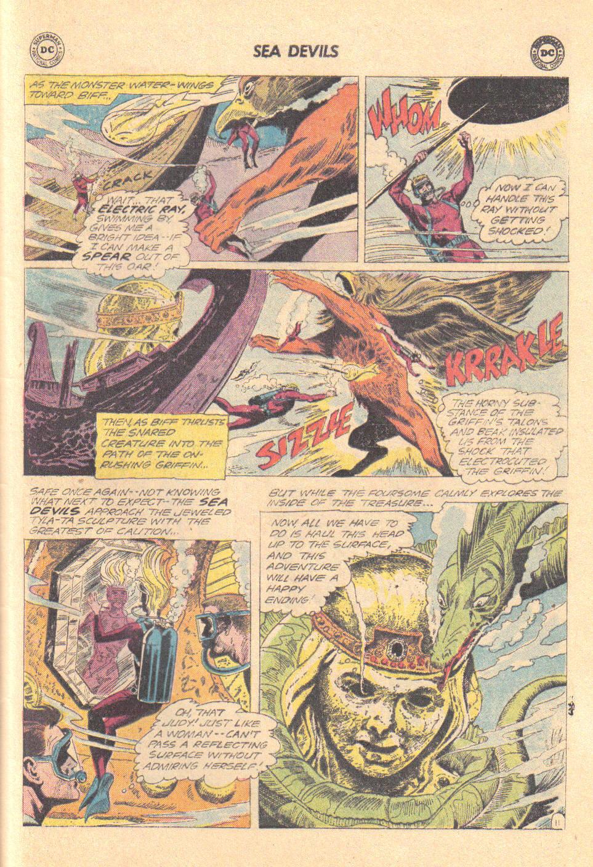 Read online Sea Devils comic -  Issue #16 - 29
