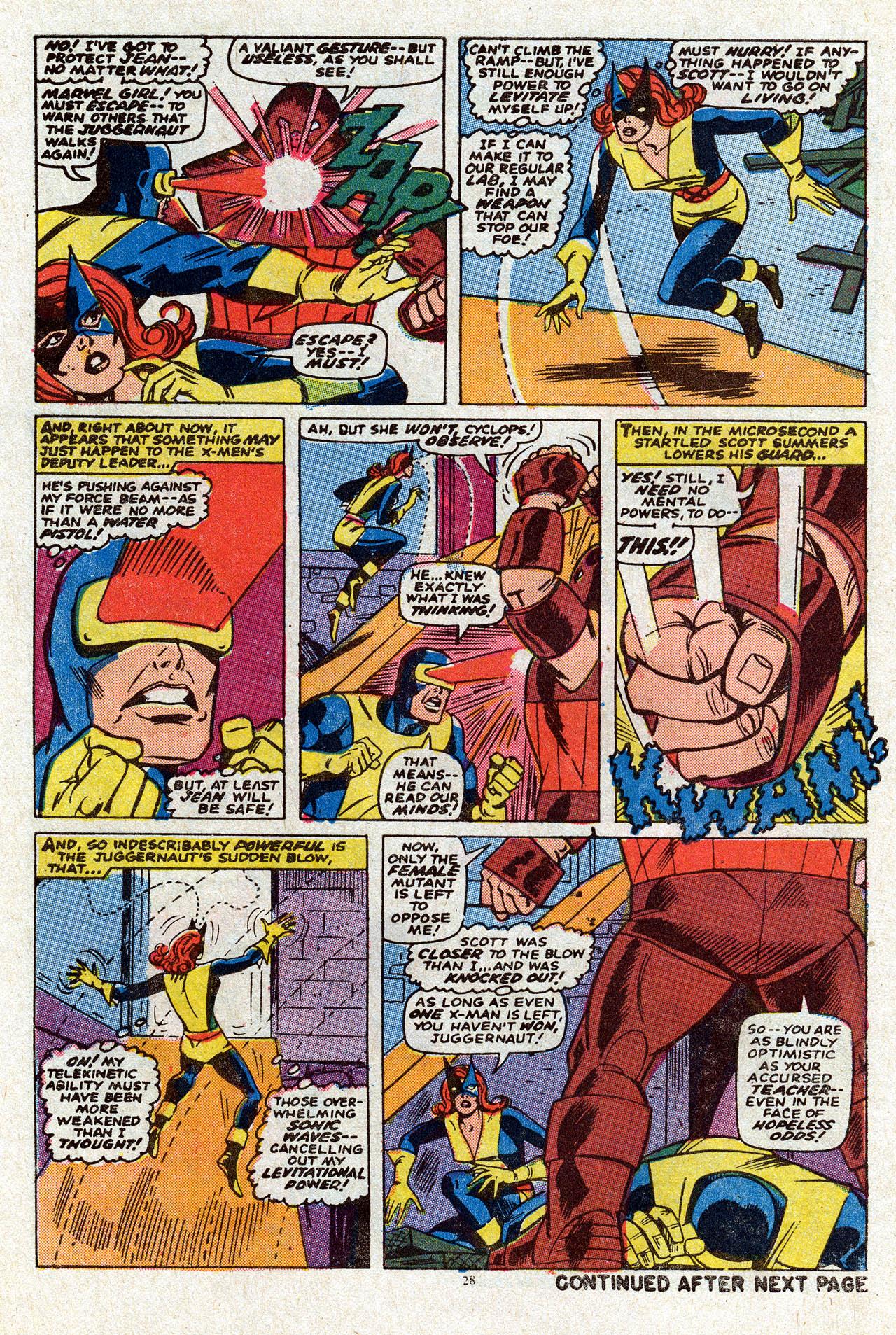 Uncanny X-Men (1963) 80 Page 29