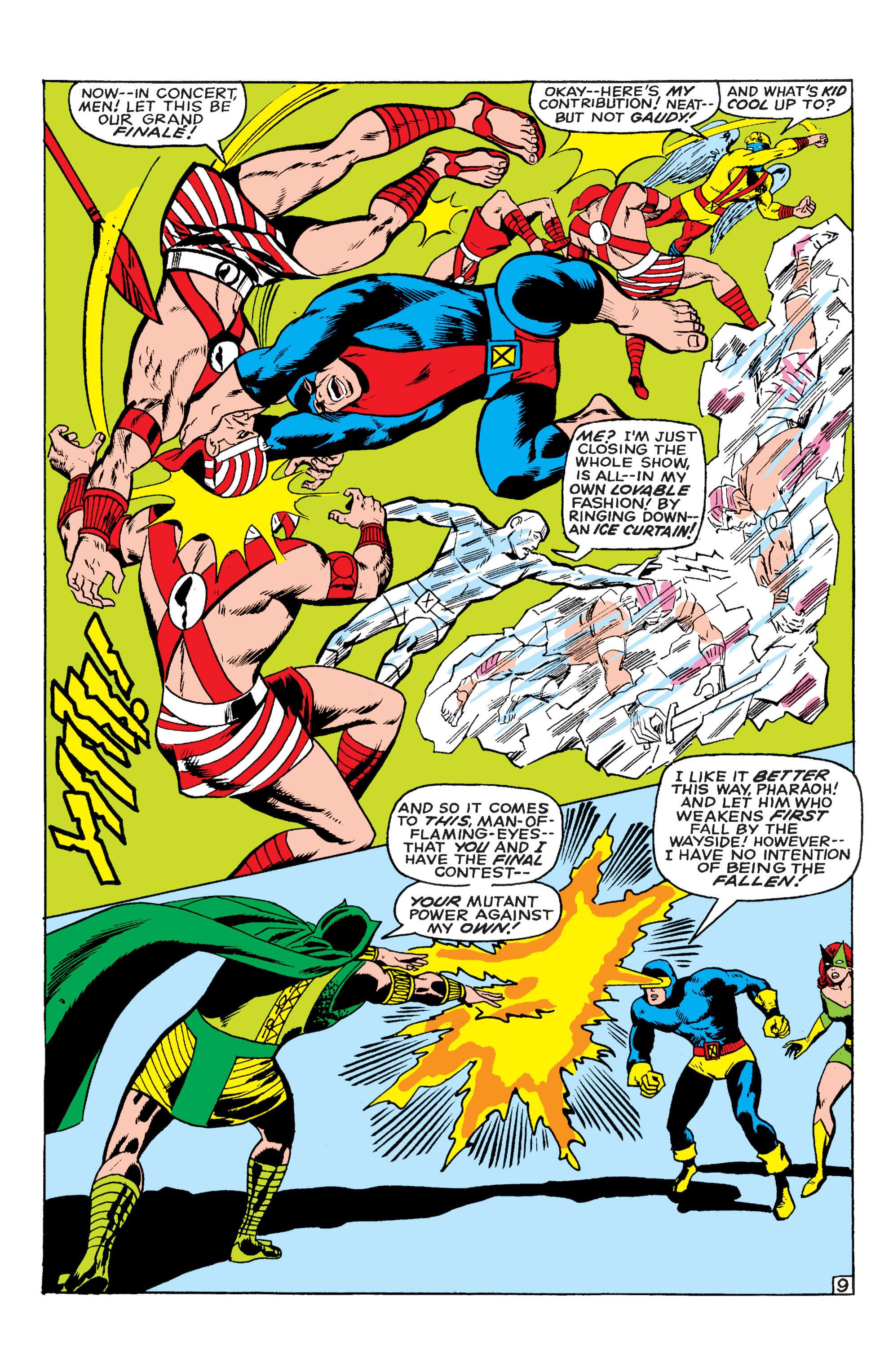Read online Uncanny X-Men (1963) comic -  Issue #54 - 10