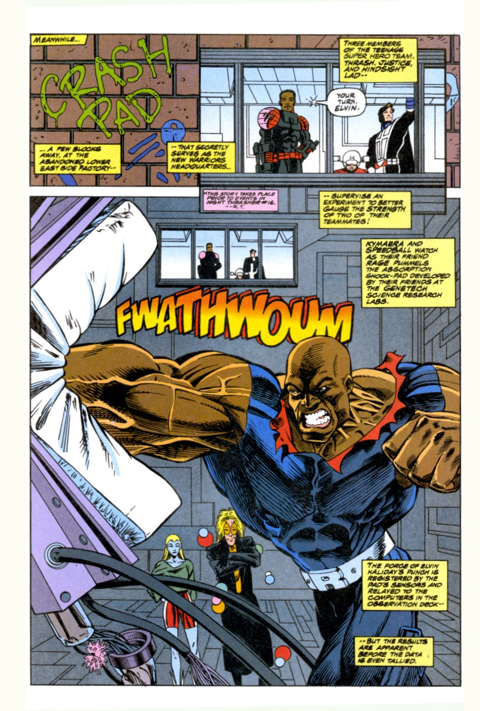 The New Warriors Issue #52 #56 - English 7