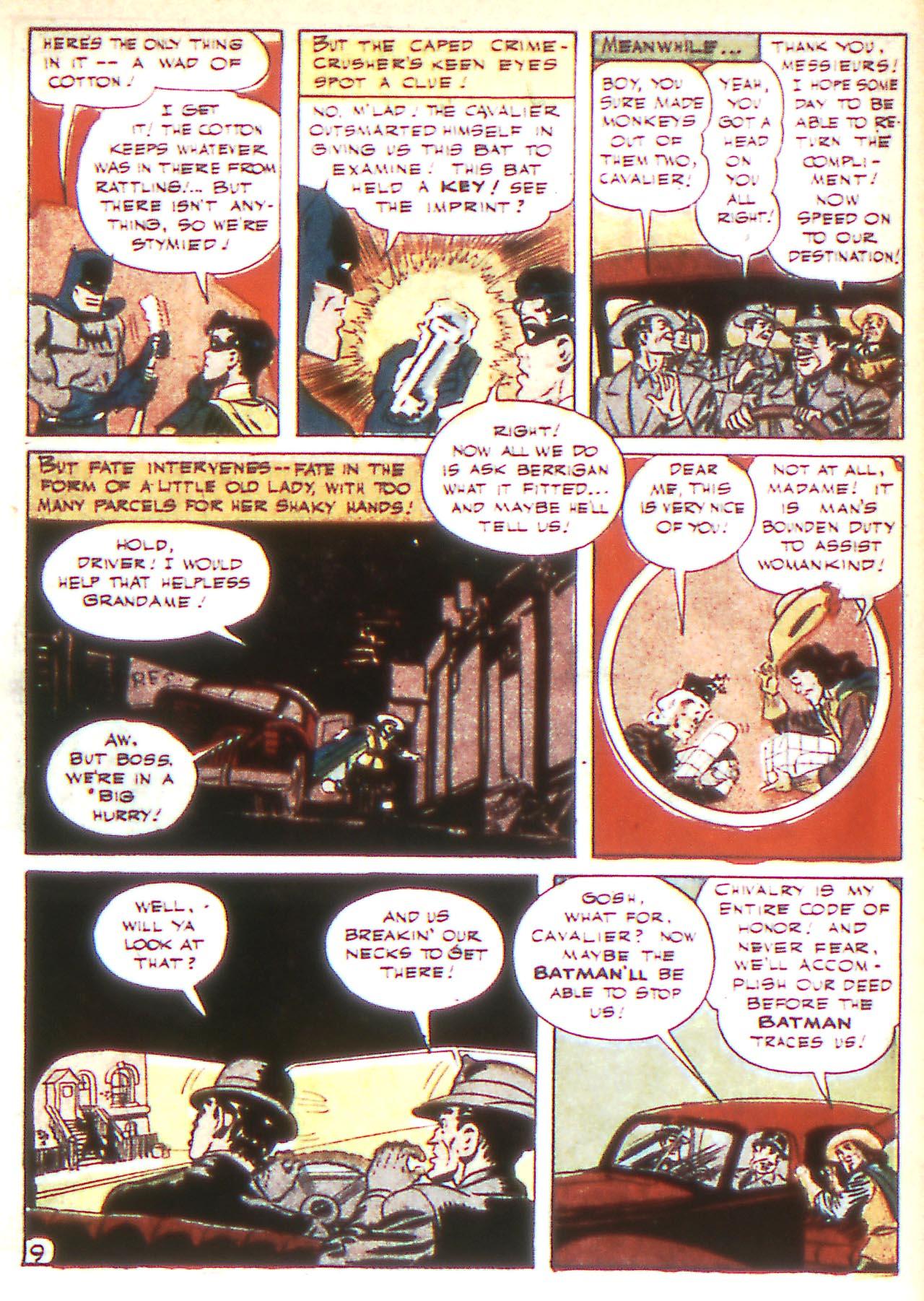 Read online Detective Comics (1937) comic -  Issue #81 - 11