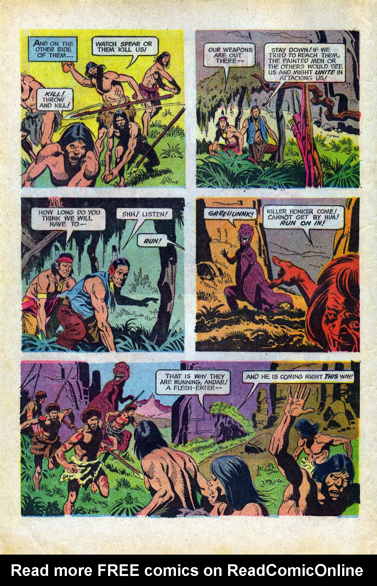 Read online Turok, Son of Stone comic -  Issue #66 - 4