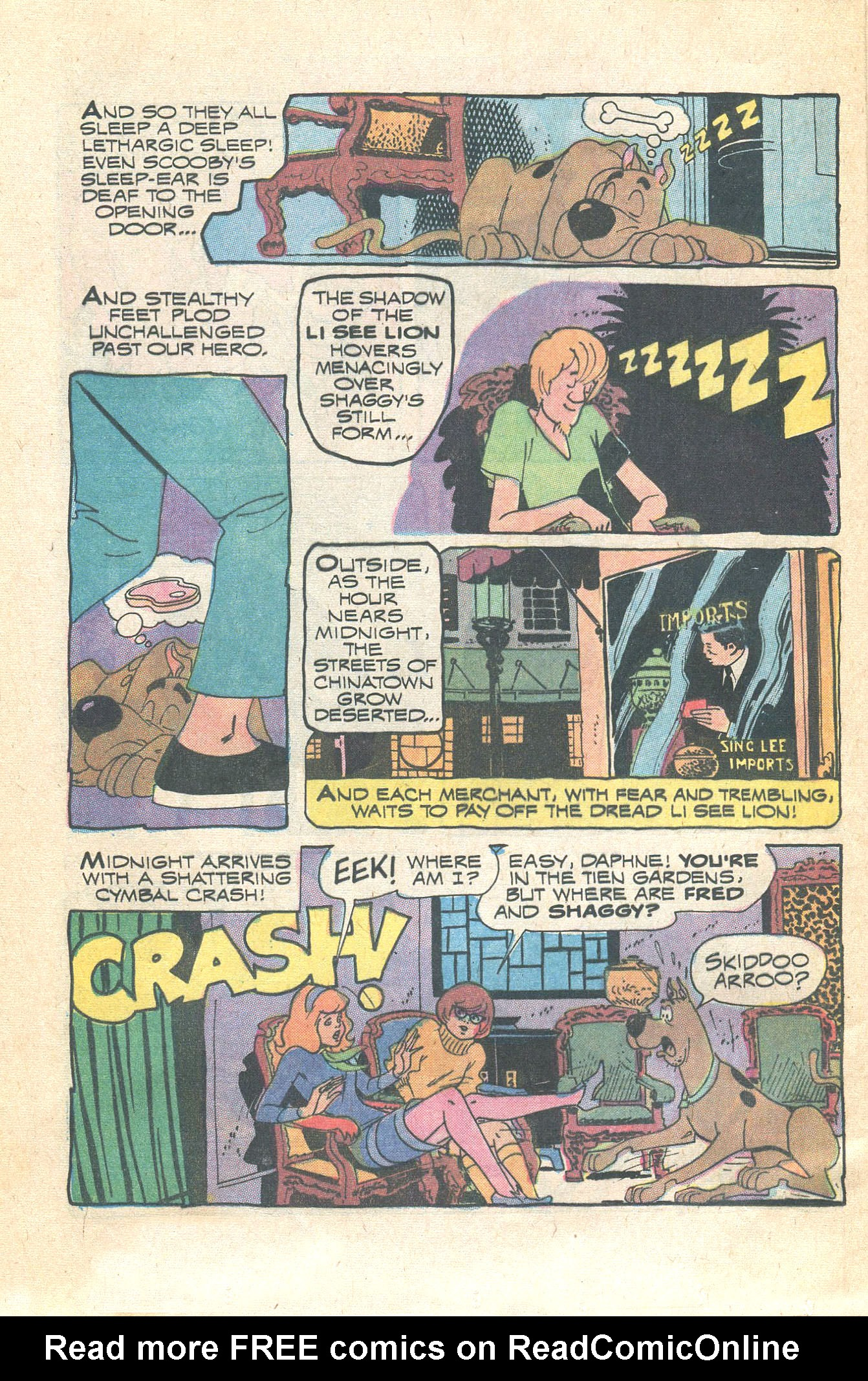 Read online Scooby-Doo... Where Are You! (1970) comic -  Issue #16 - 12
