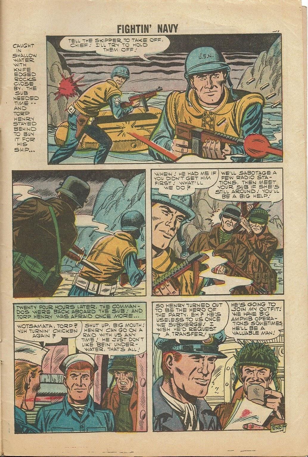 Read online Fightin' Navy comic -  Issue #81 - 33