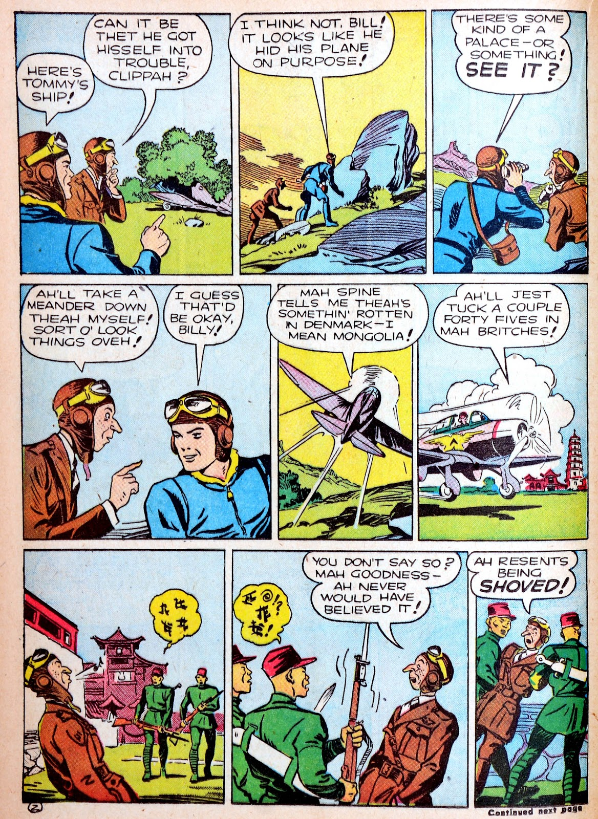 Read online Famous Funnies comic -  Issue #88 - 30