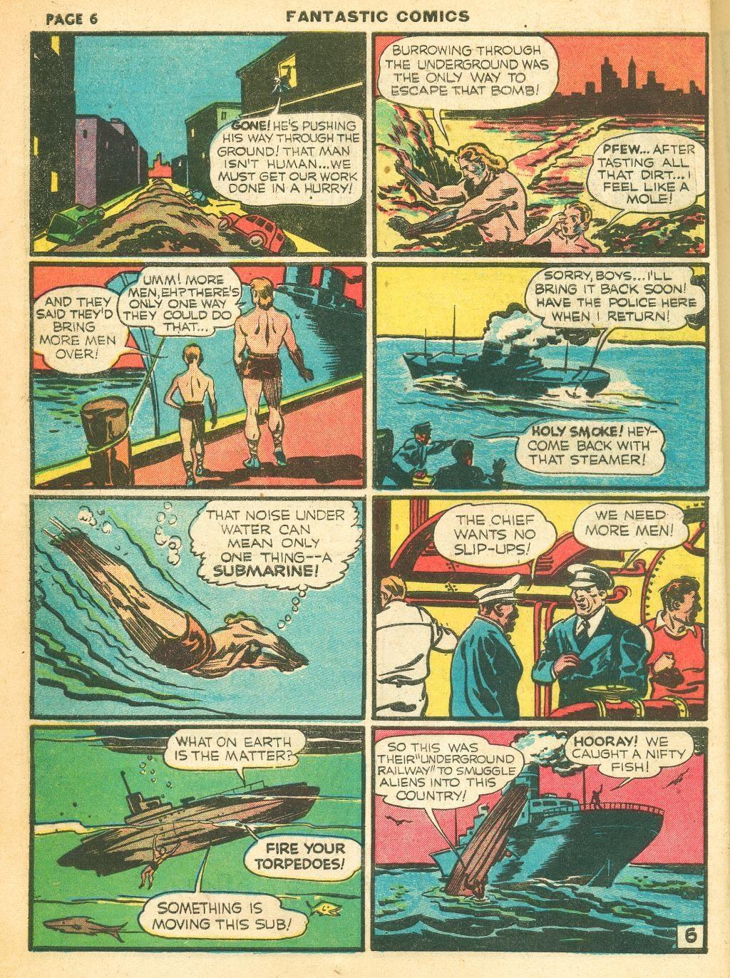 Read online Fantastic Comics comic -  Issue #12 - 8
