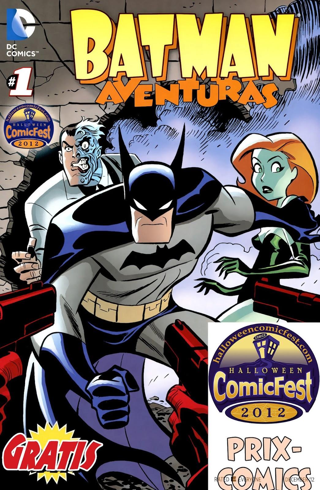 Batman/Scooby-Doo Halloween ComicFest Full Page 1