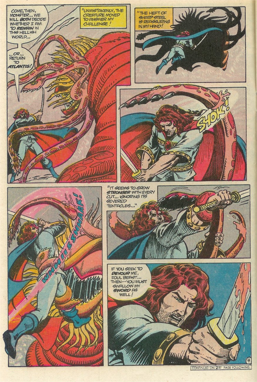 Read online Arion, Lord of Atlantis comic -  Issue #25 - 5