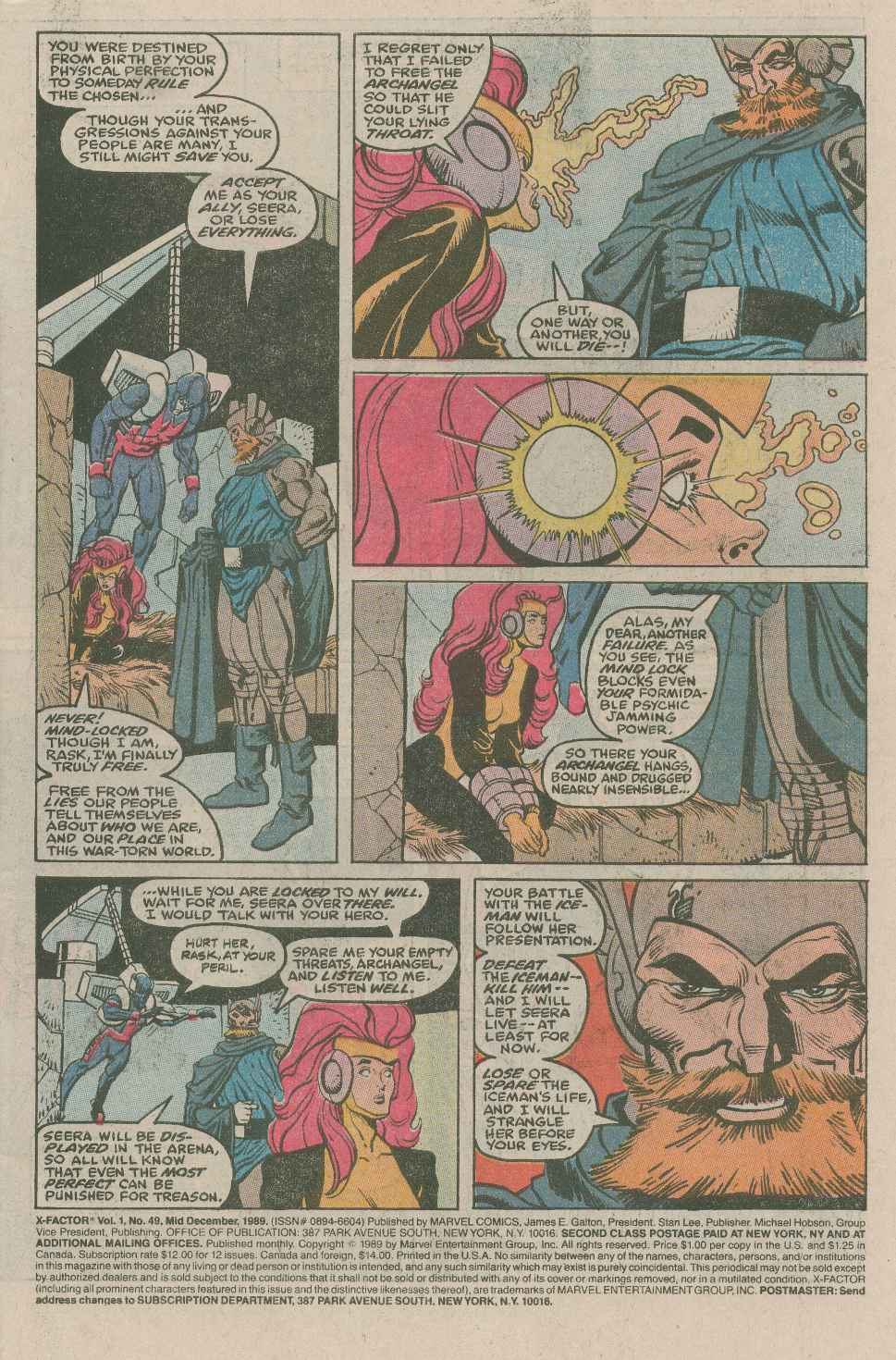 Read online X-Factor (1986) comic -  Issue #49 - 2