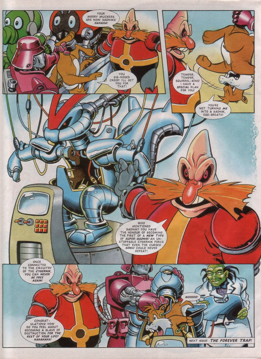 Read online Sonic the Comic comic -  Issue #45 - 24