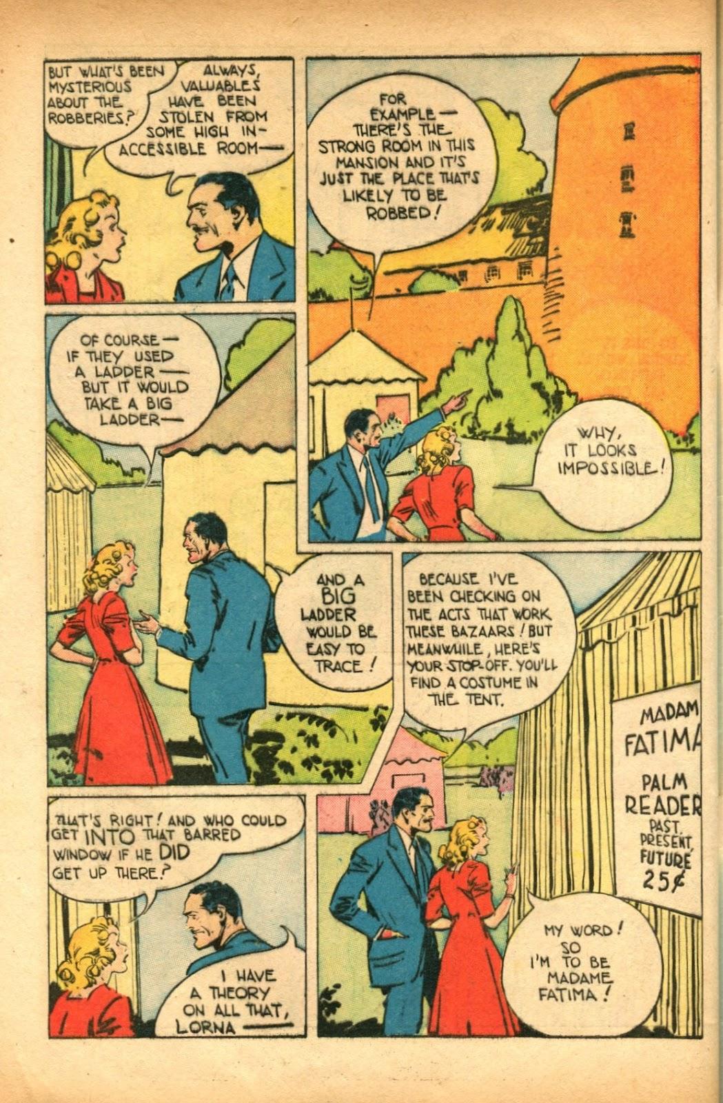 Read online Super-Magician Comics comic -  Issue #51 - 44
