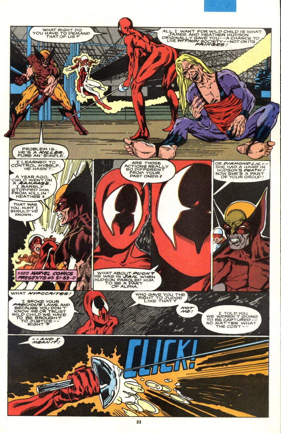 Read online Alpha Flight (1983) comic -  Issue #90 - 19