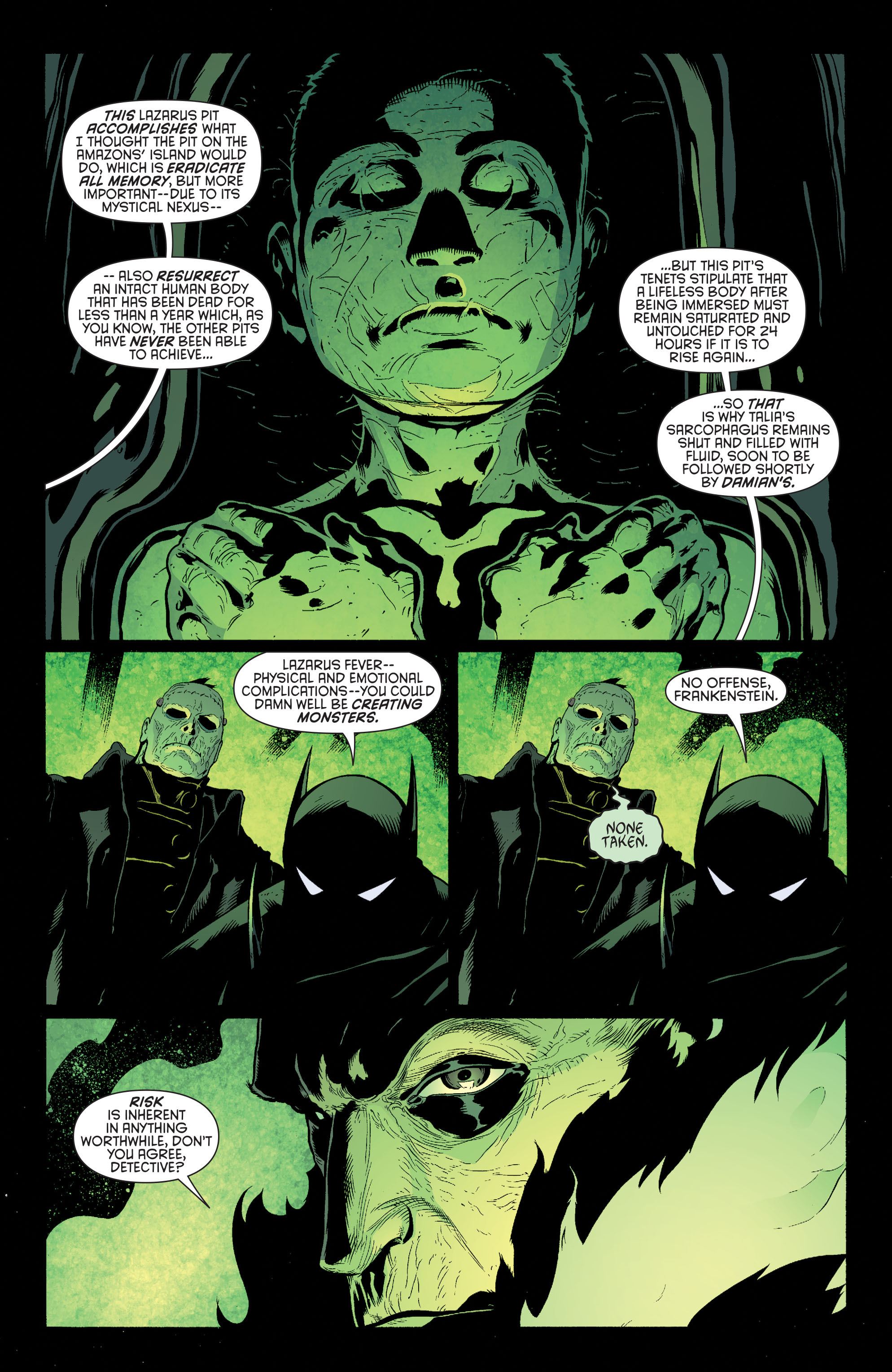 Read online Batman and Robin (2011) comic -  Issue #32 - Batman and Ra's al Ghul - 7