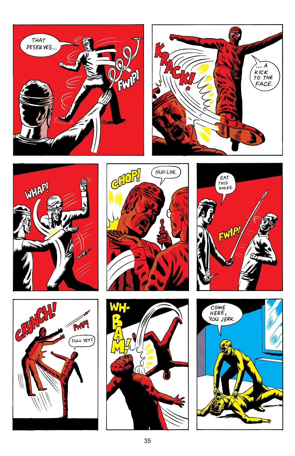 Read online Terror Assaulter: O.M.W.O.T (One Man War On Terror) comic -  Issue # TPB - 36