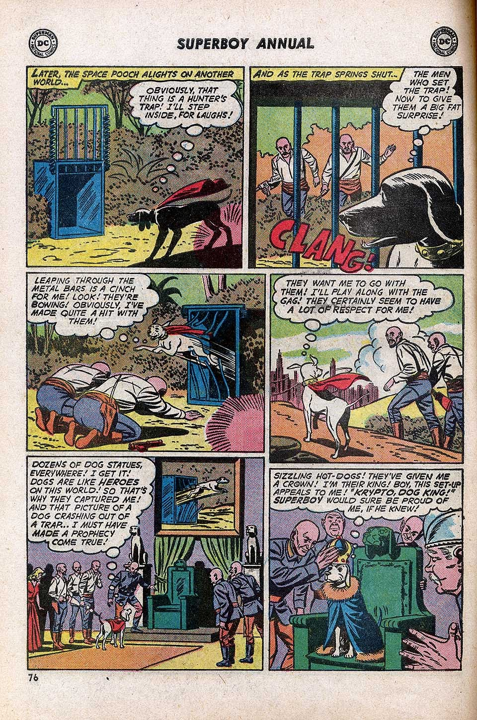 Superboy (1949) issue Annual 1 - Page 78