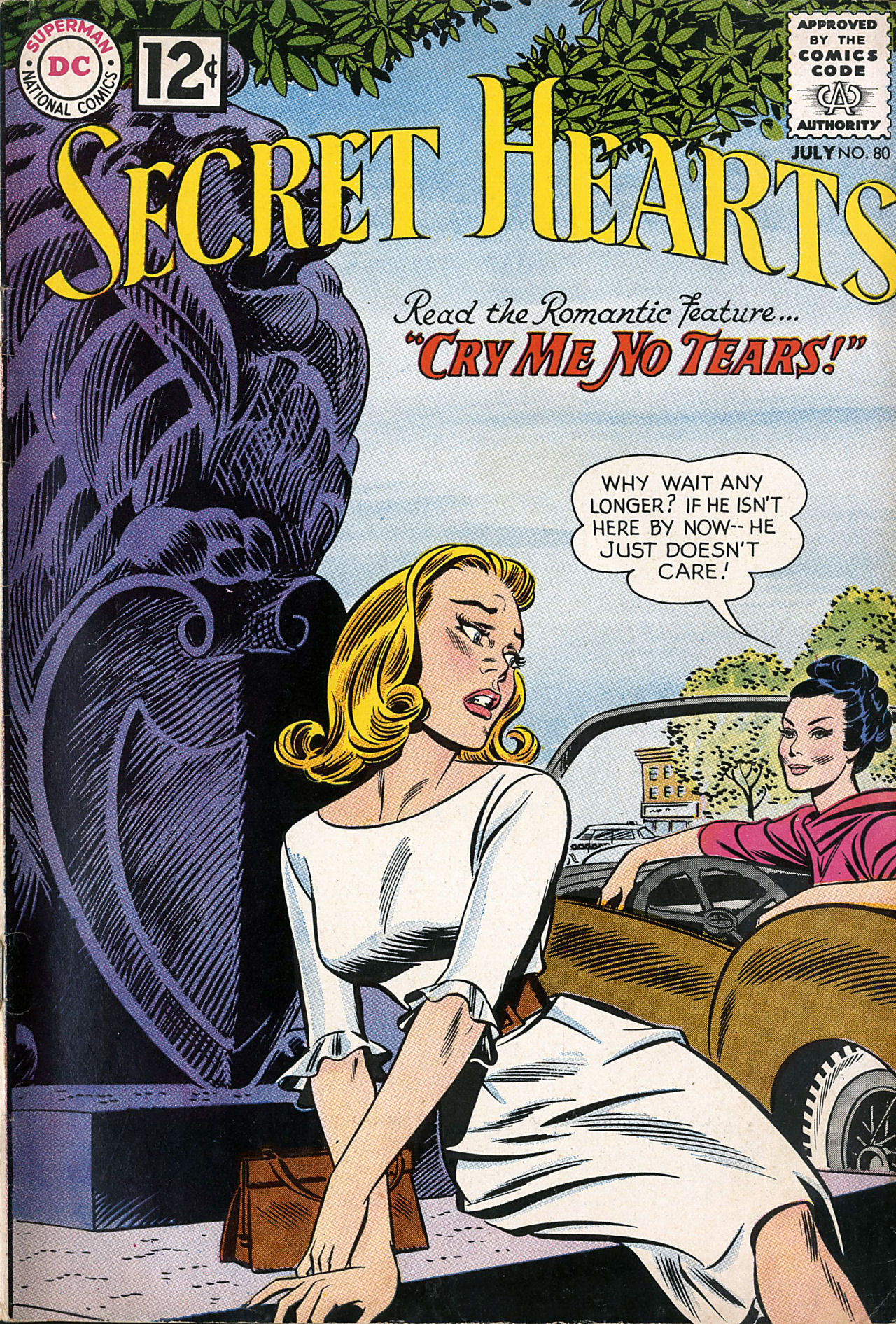 Read online Secret Hearts comic -  Issue #80 - 1