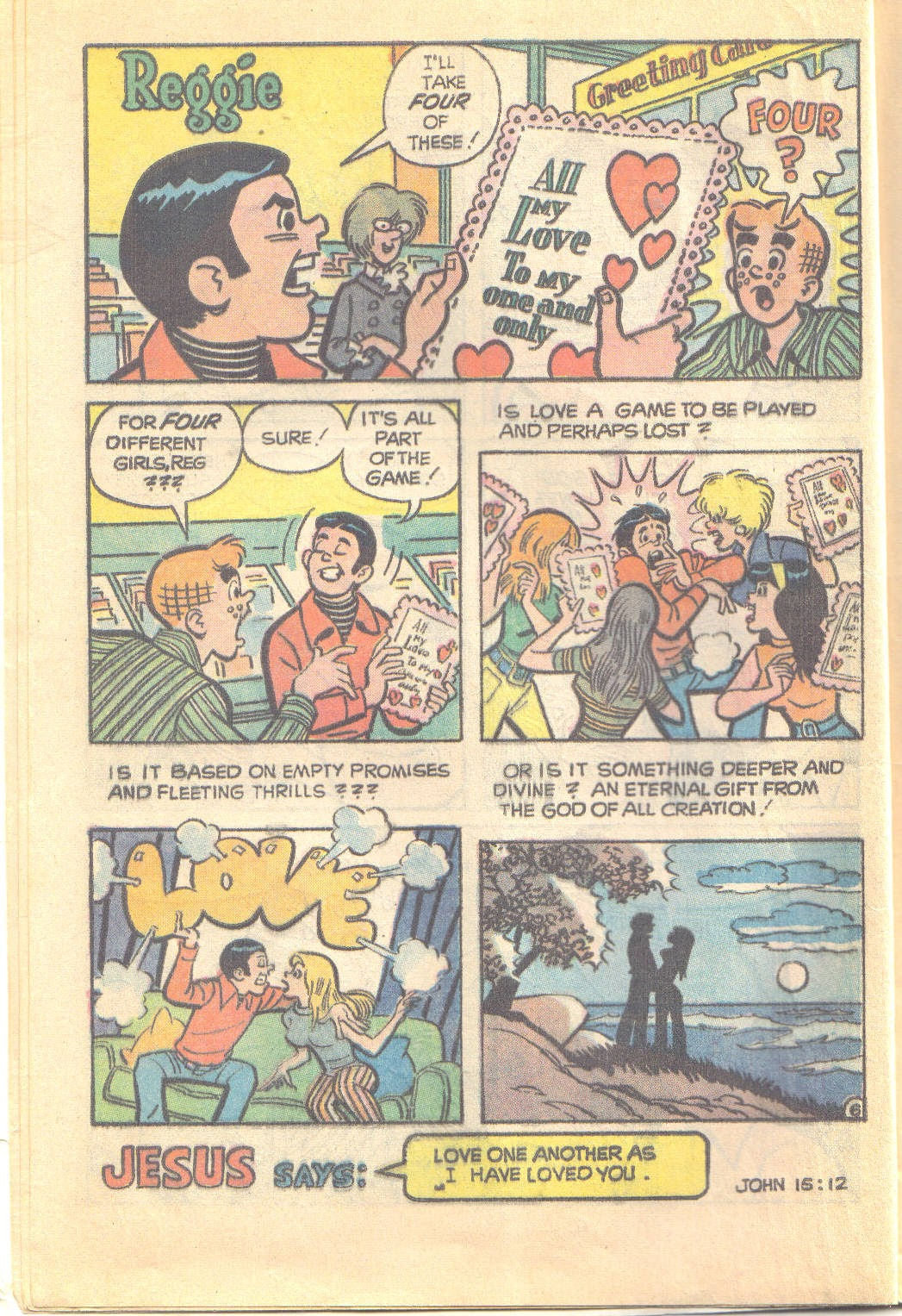 Archie's Love Scene issue Full - Page 8