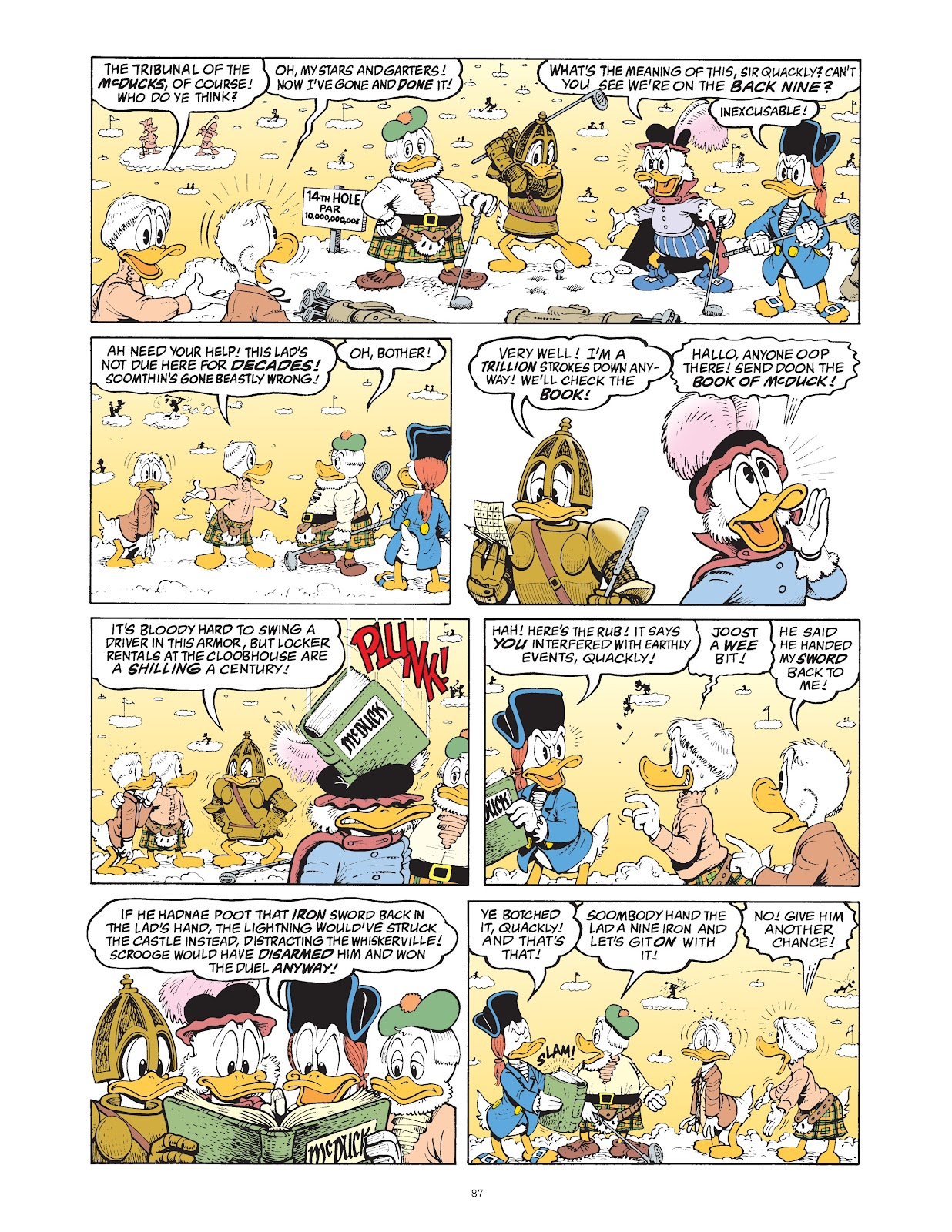 Read online The Complete Life and Times of Scrooge McDuck comic -  Issue # TPB 1 (Part 1) - 90